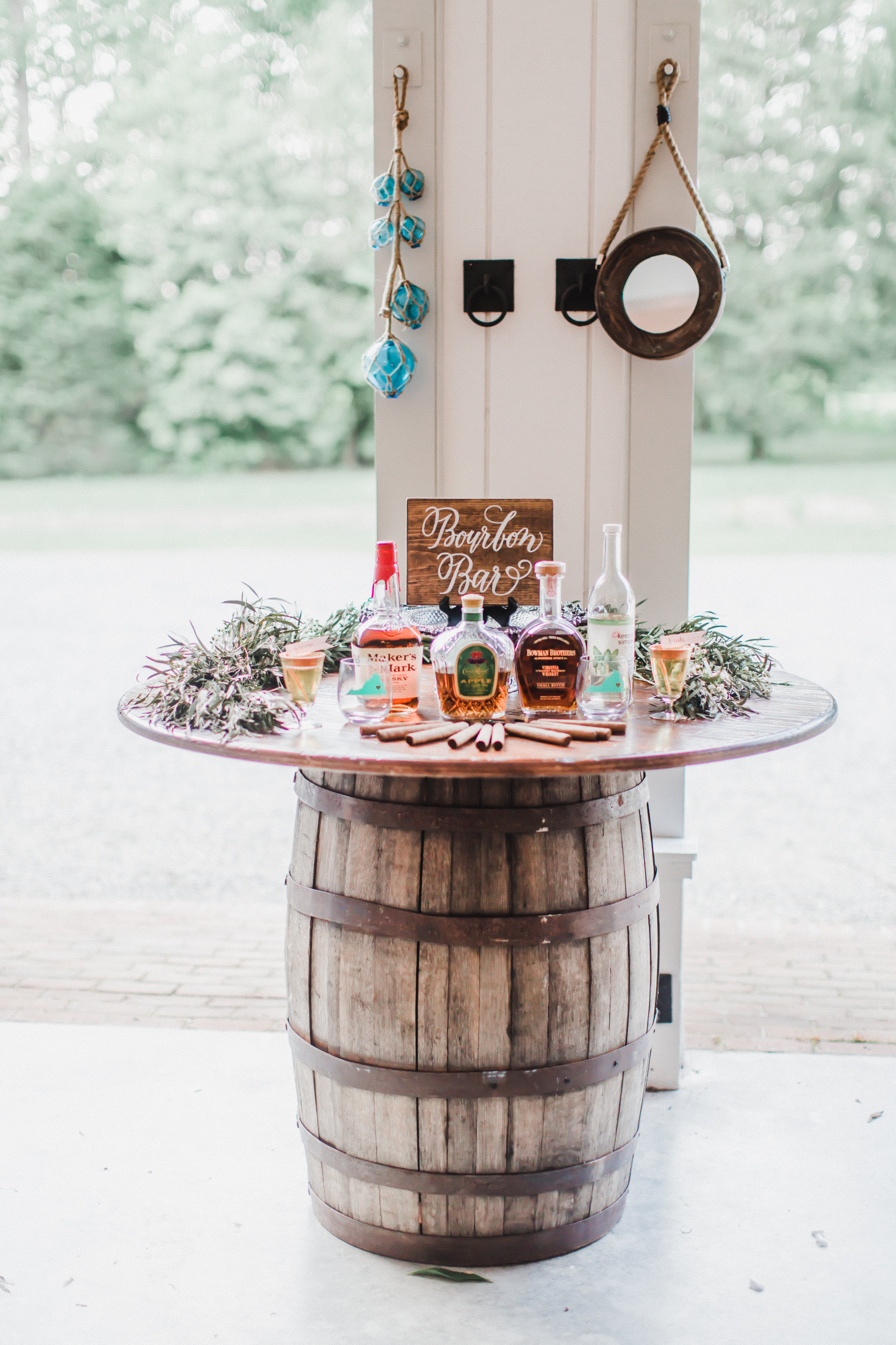 Specialty Wedding Bar Bourbon Bar