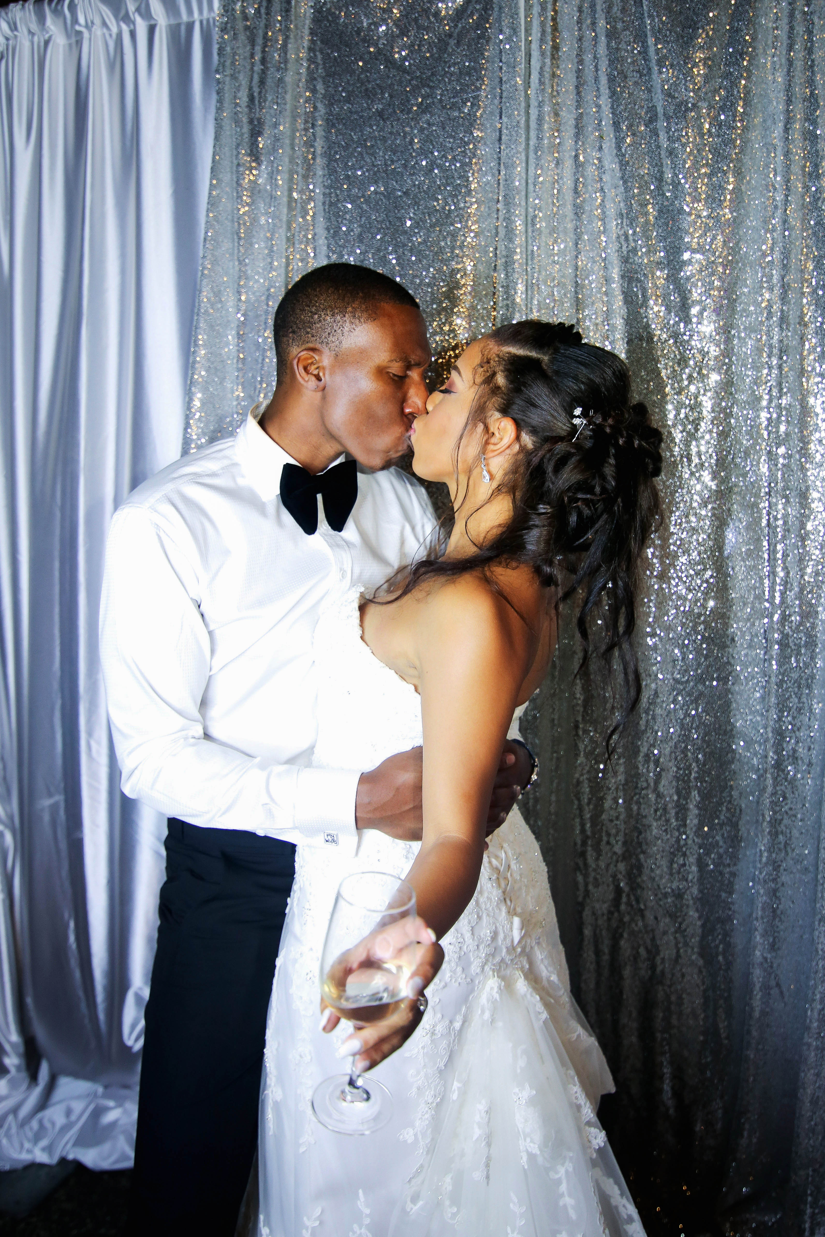 bridal ponytail cascade