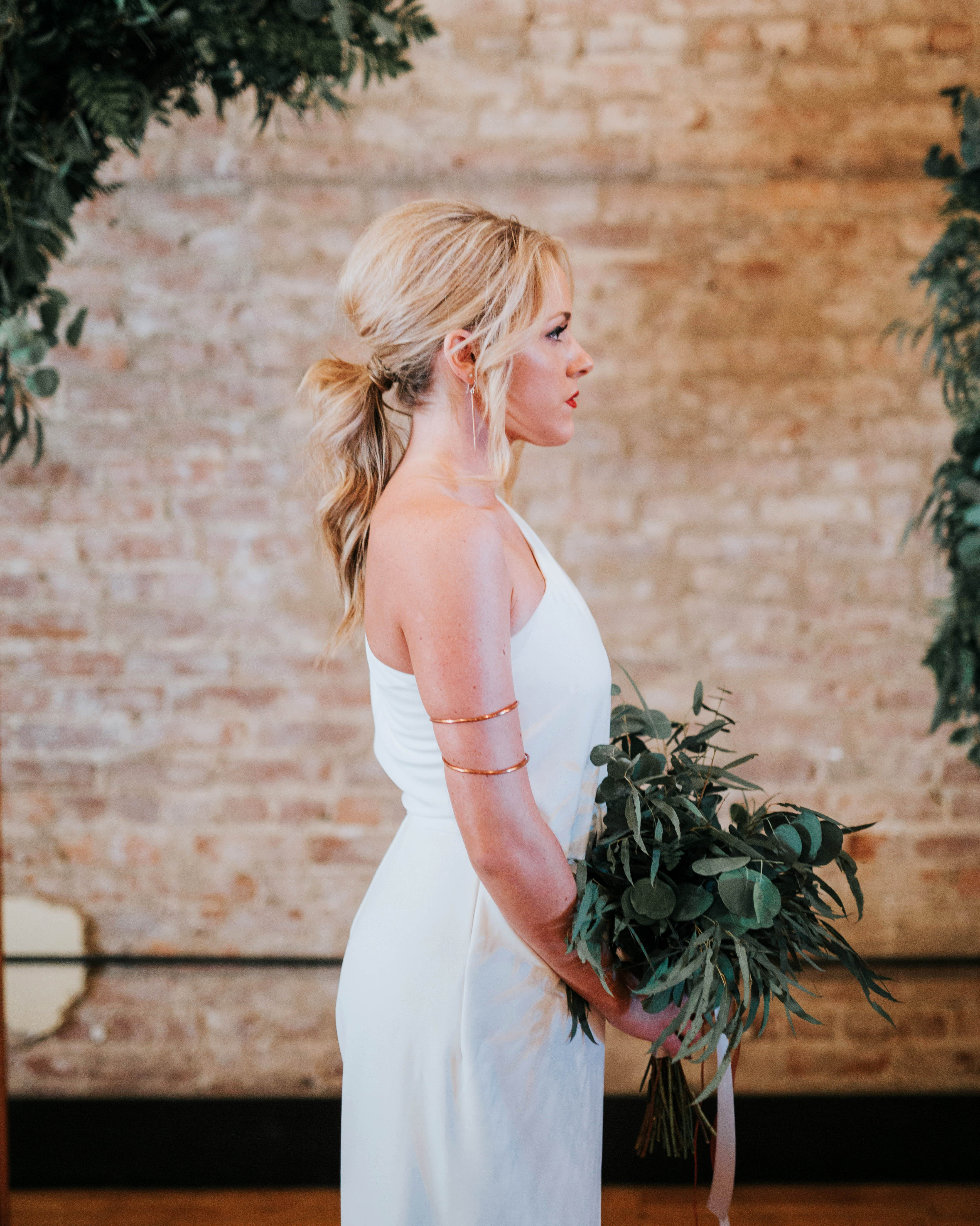 bridal ponytail self profile