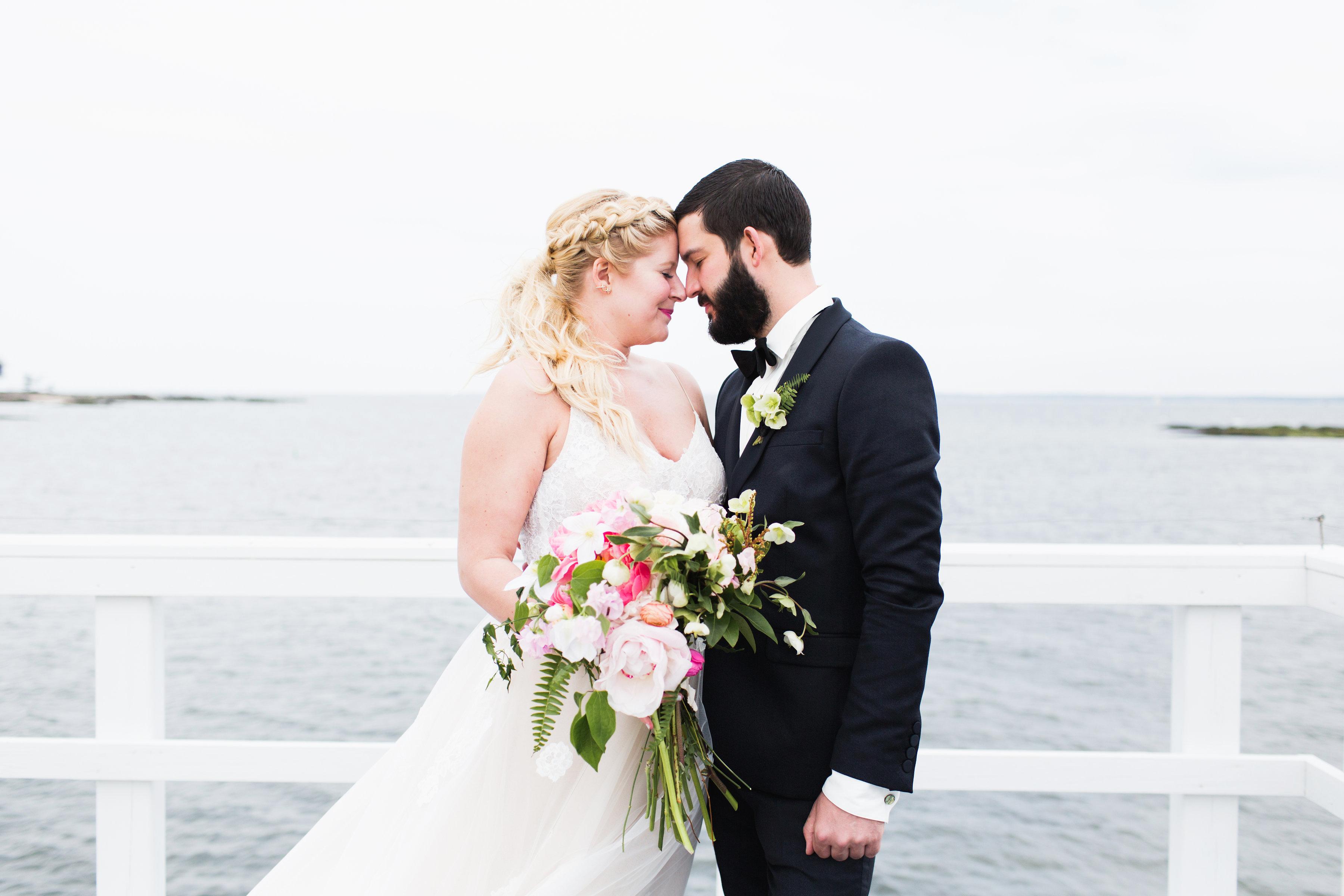bridal ponytail
