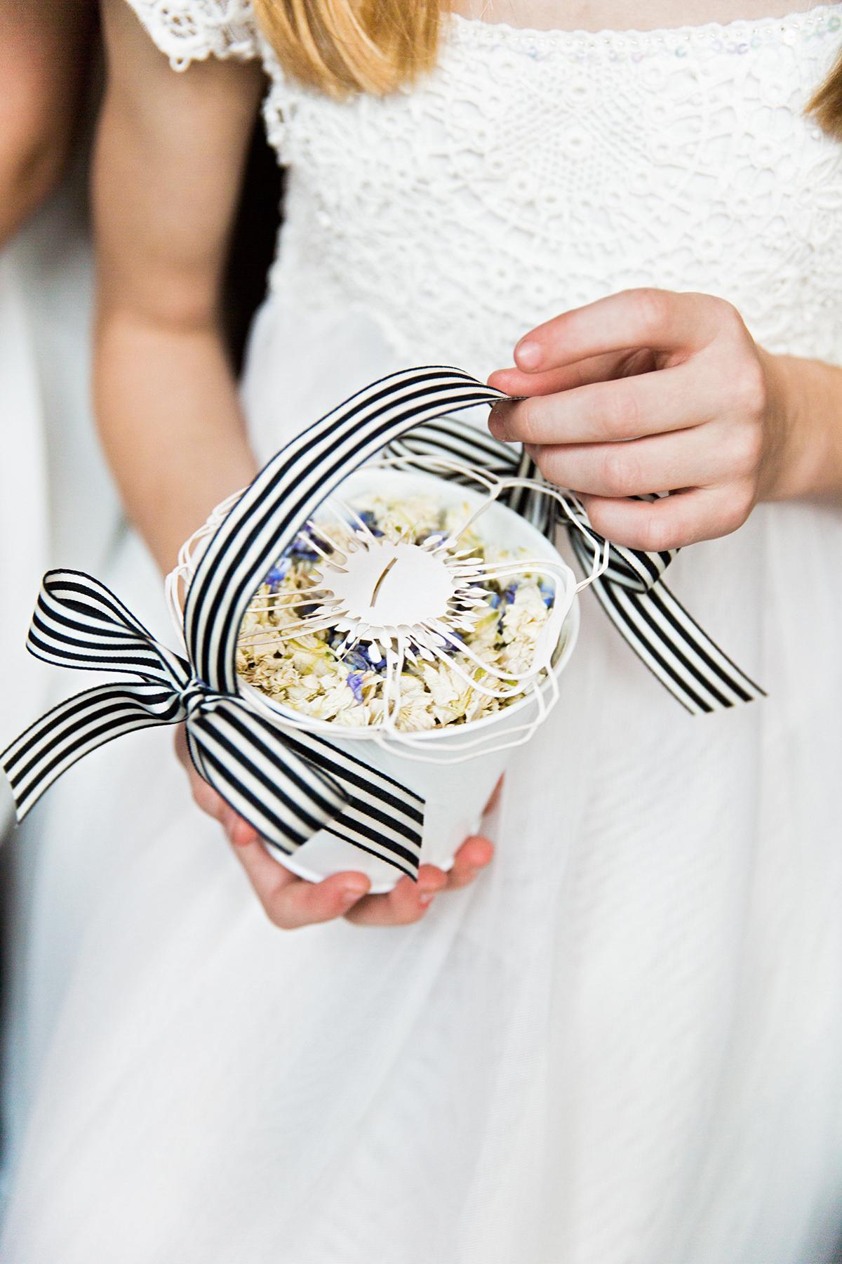 ana and damon flower girl basket