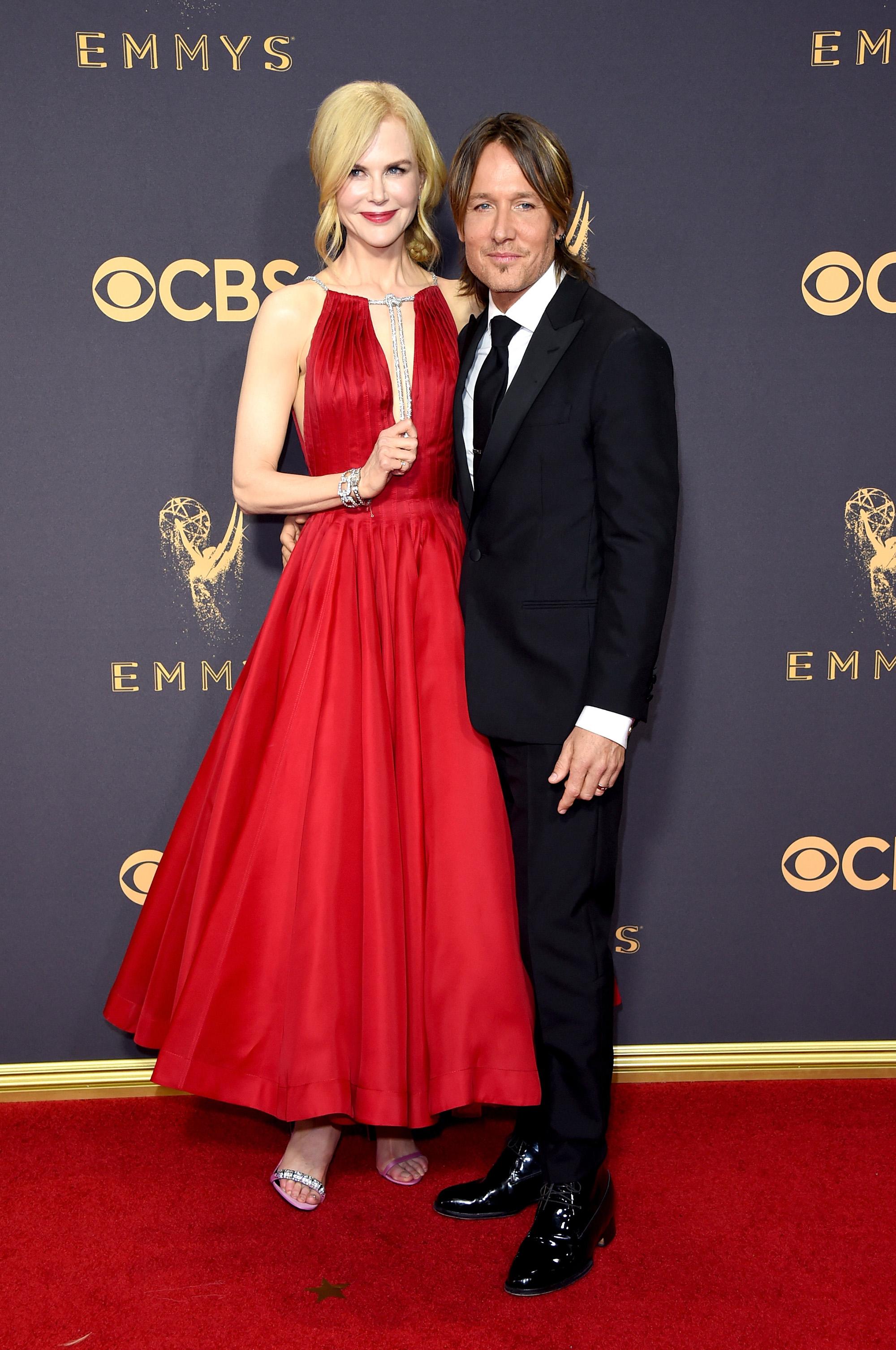 Nicole Kidman and Keith Urban Emmys 2017