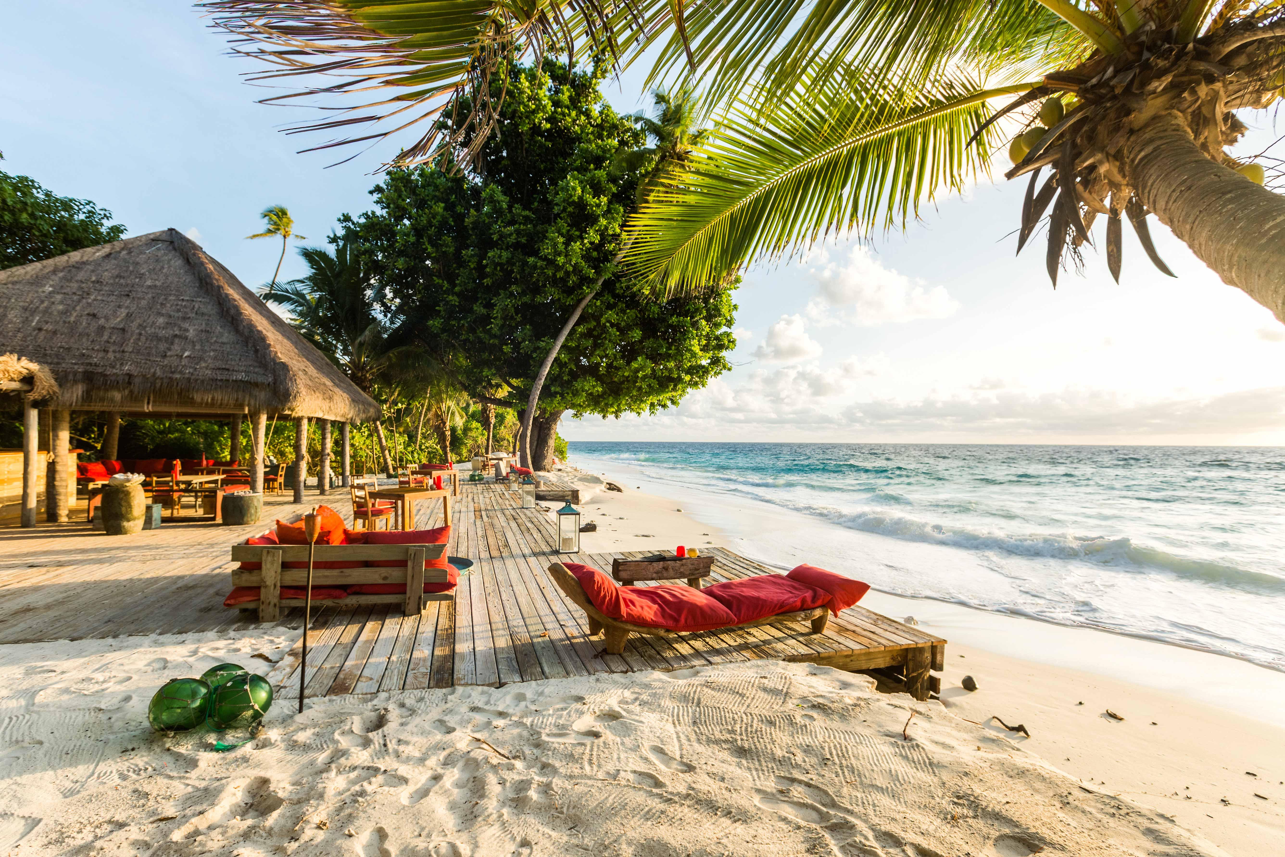 beach lounge ocean
