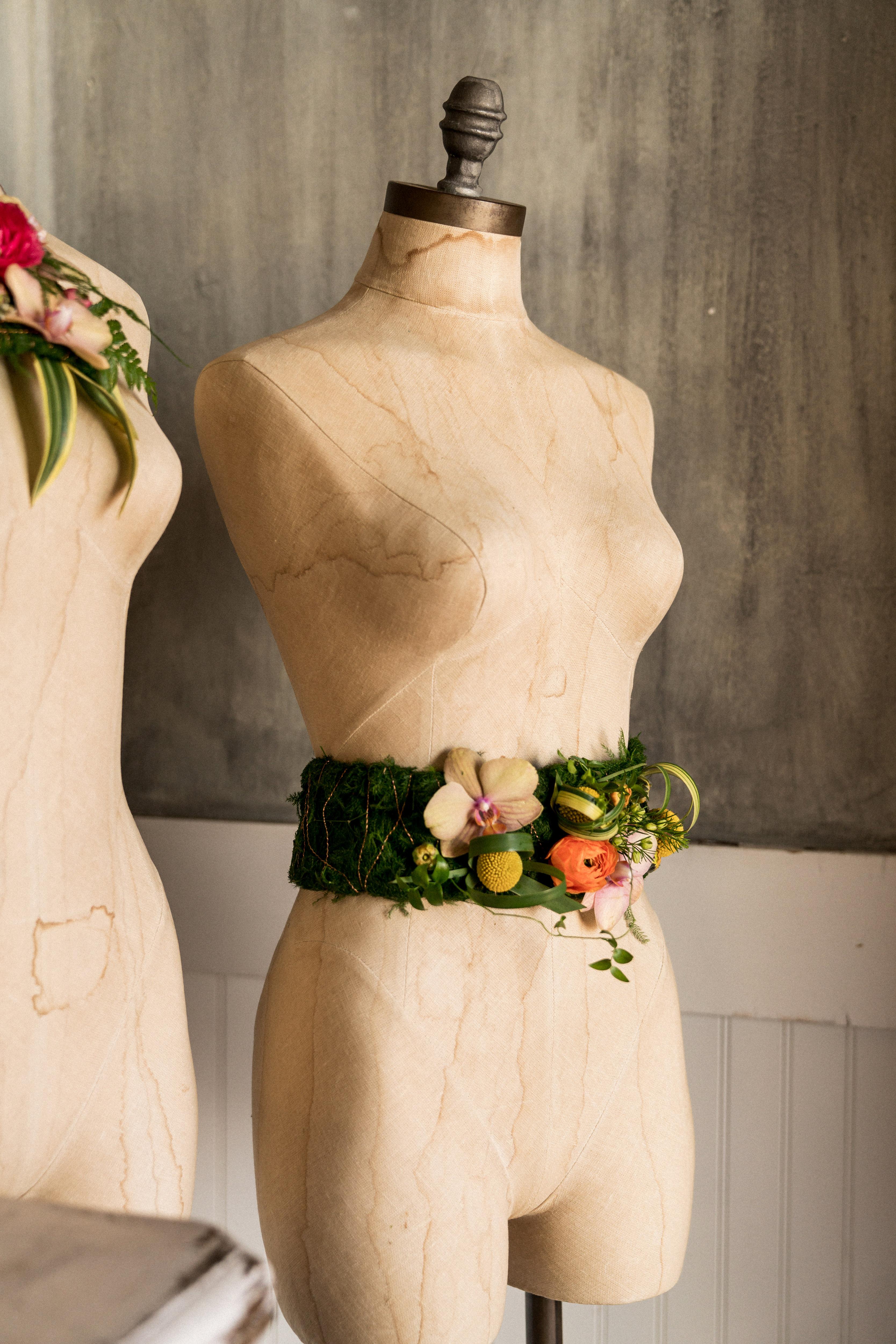 kara bridal shower flower belt