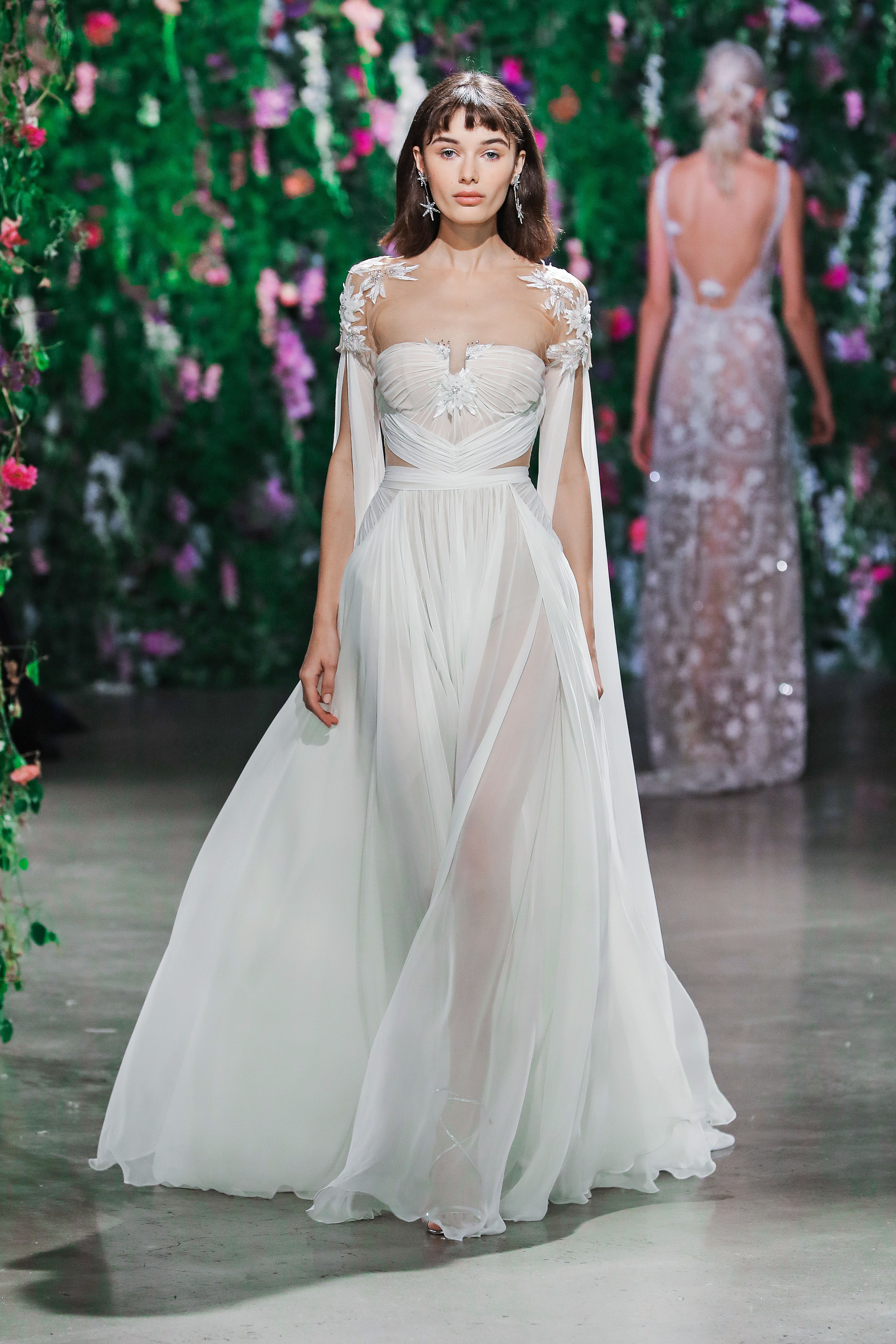 Galia Lahav Styled Sweetheart Wedding Dress Fall 2018