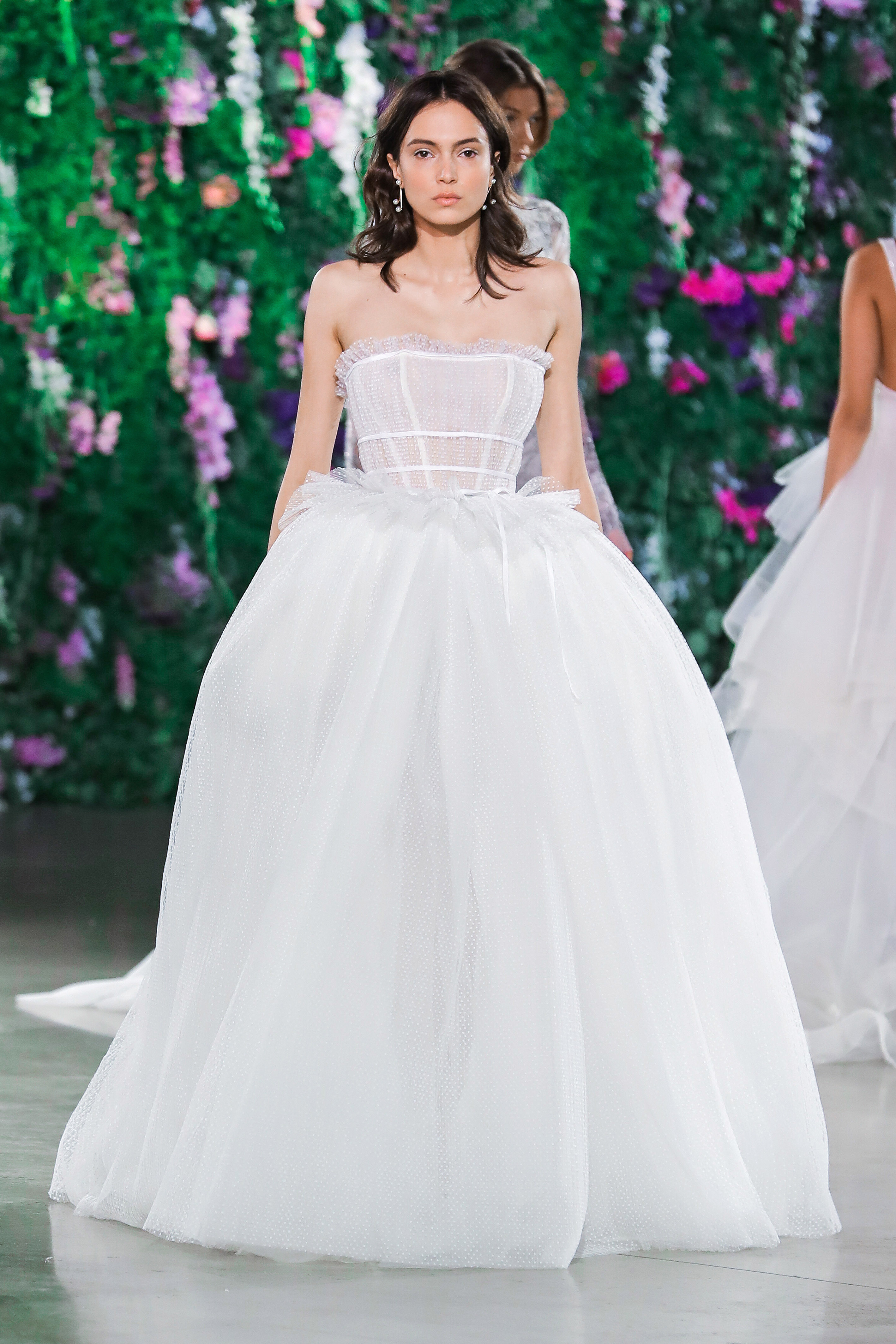 Galia Lahav Halter with Puffed Skirt Wedding Dress Fall 2018