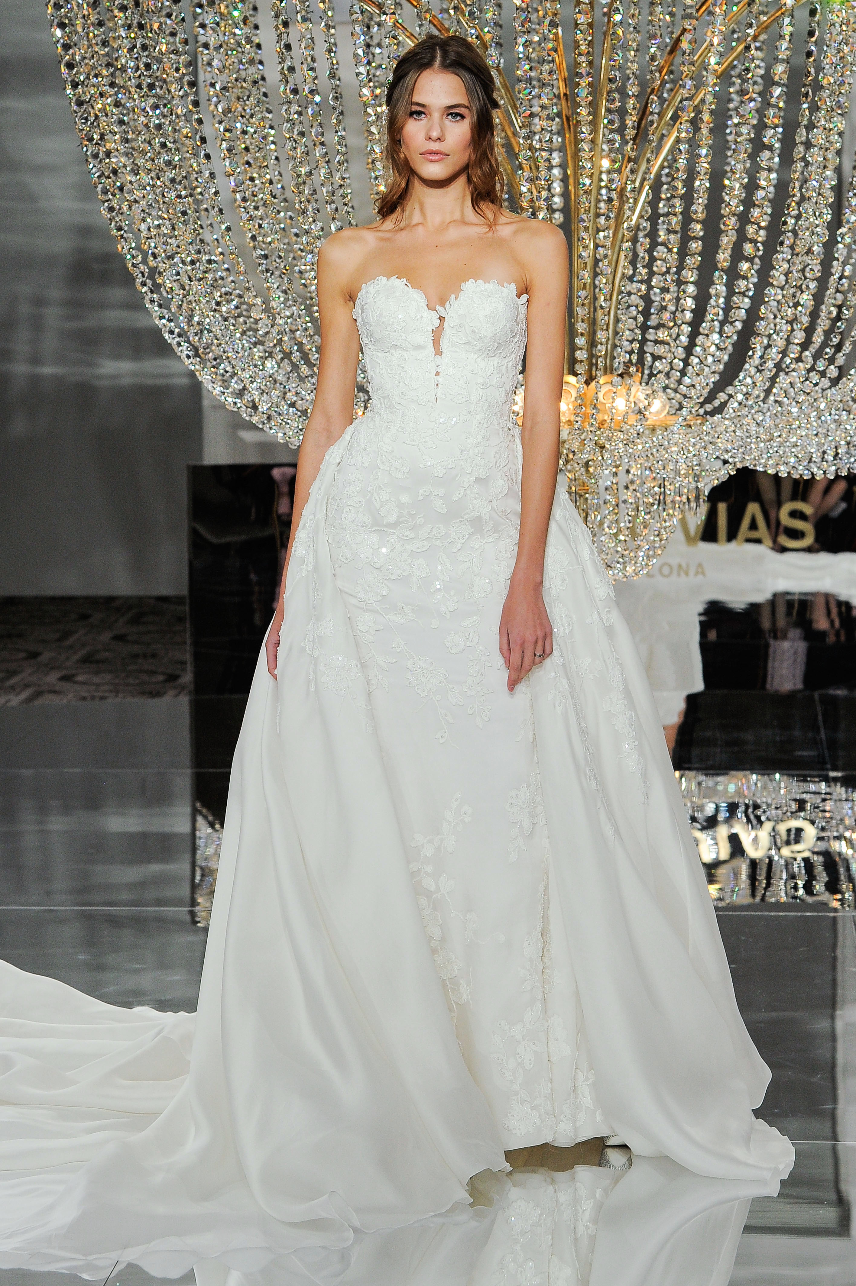 pronovias wedding dress fall 2018 sweetheart ball gown
