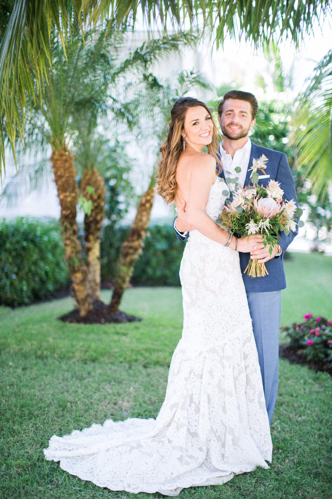samantha michael wedding looks