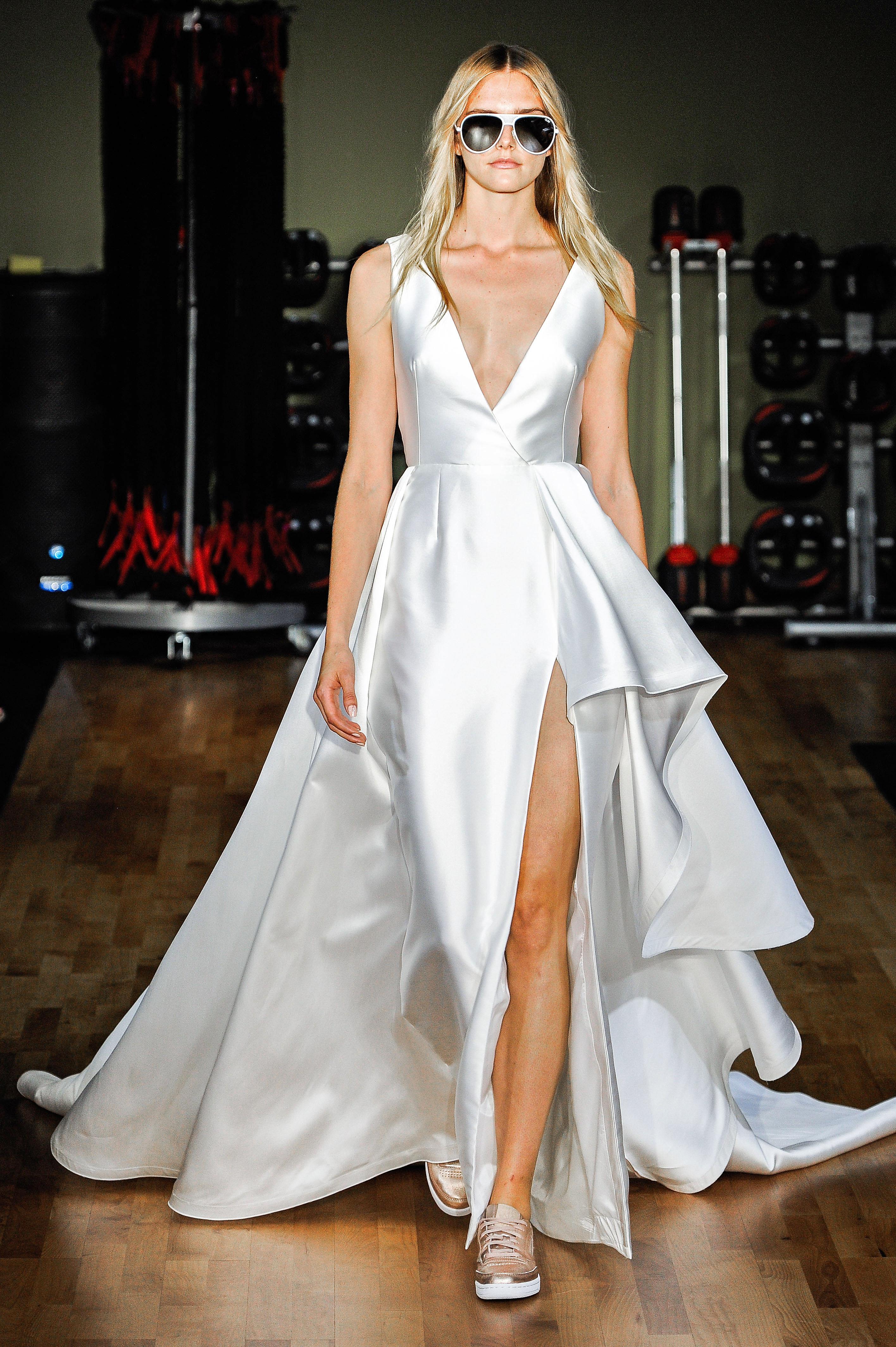 Rivini by Rita Vinieris V-Neck Wedding Dress Fall 2018