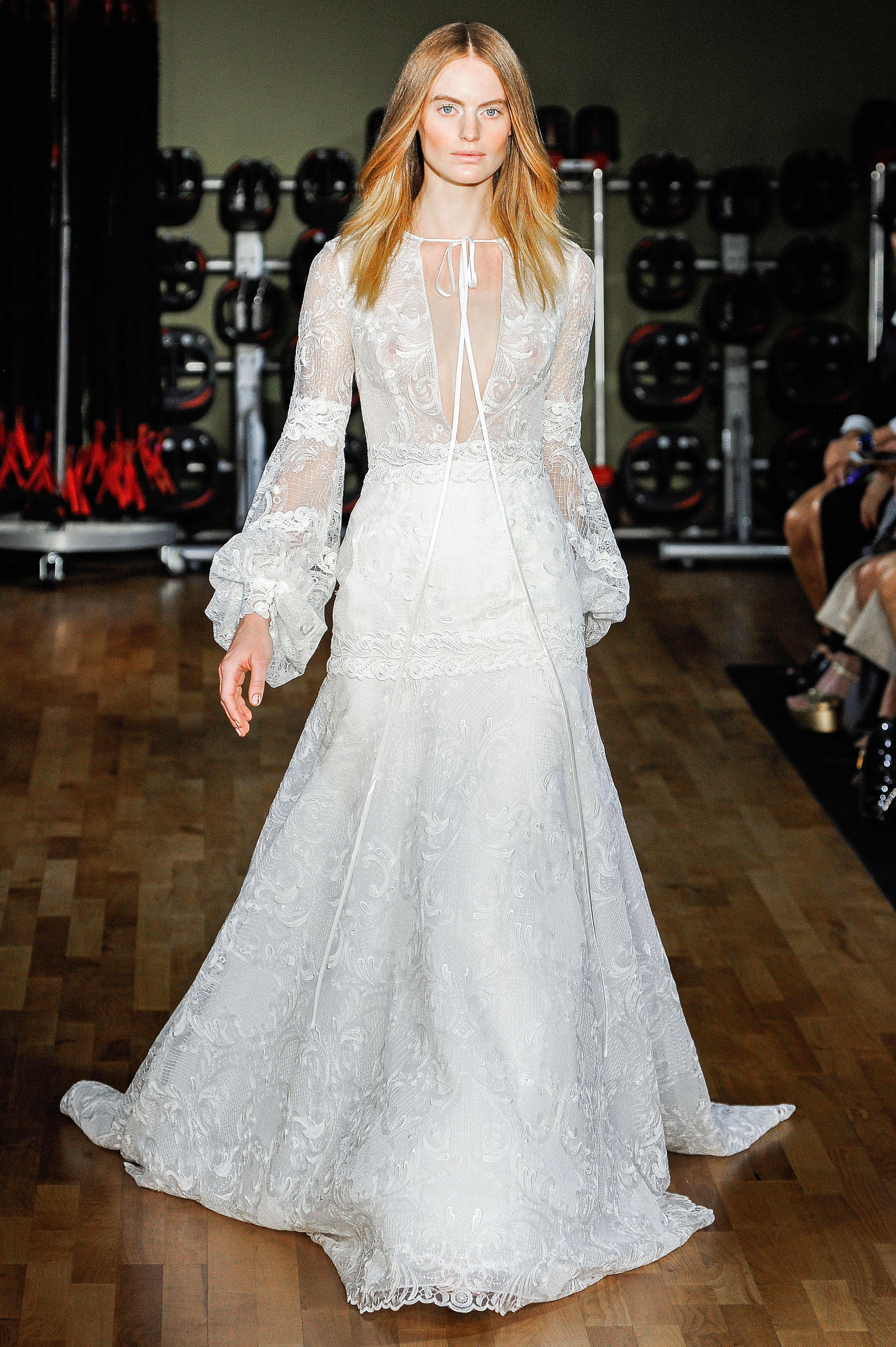 Rivini by Rita Vinieris Long Sleeves A-Line Wedding Dress Fall 2018