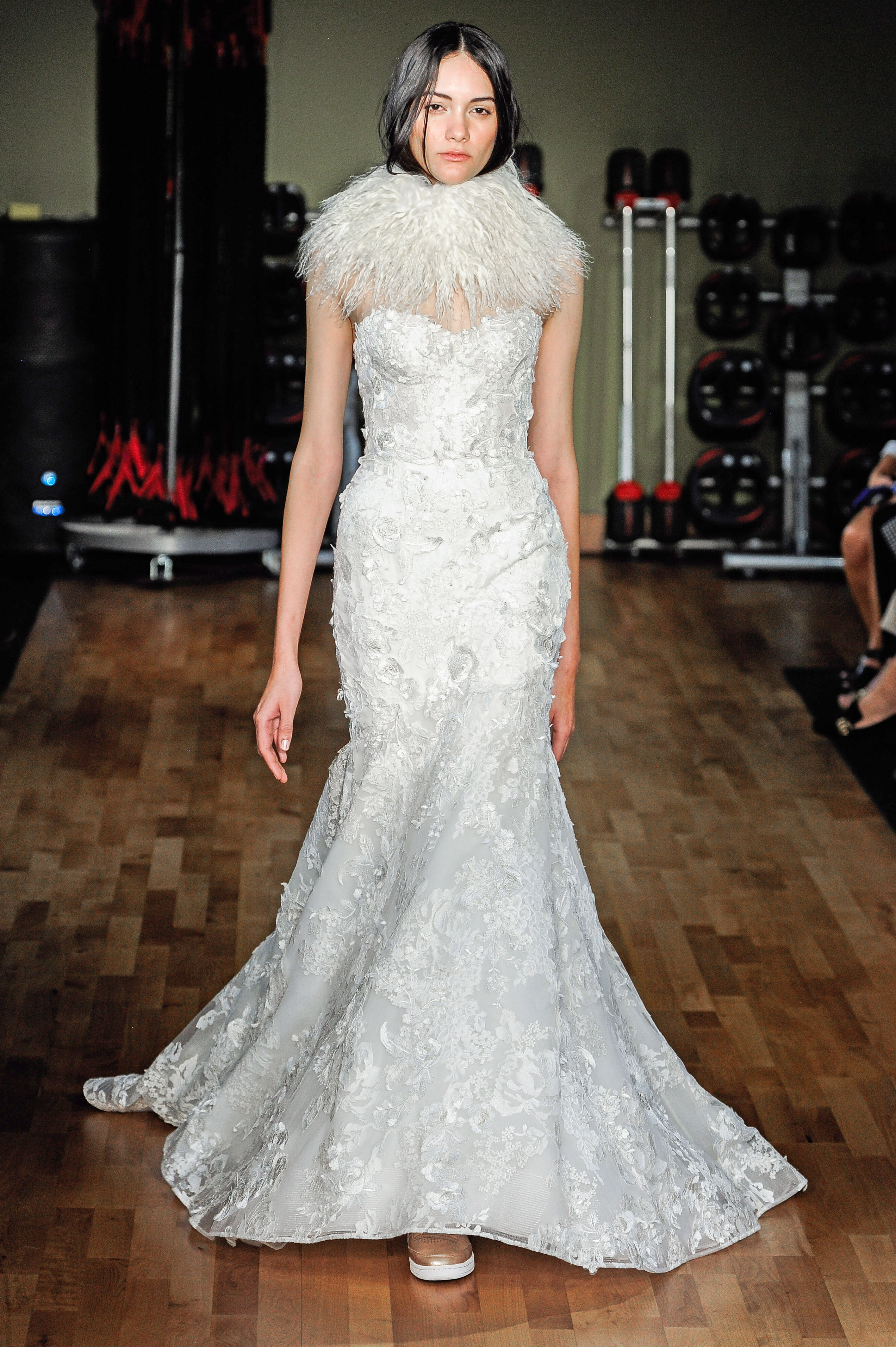 rivini by rita vinieris sweetheart neckline lace trumpet wedding dress fall 2018