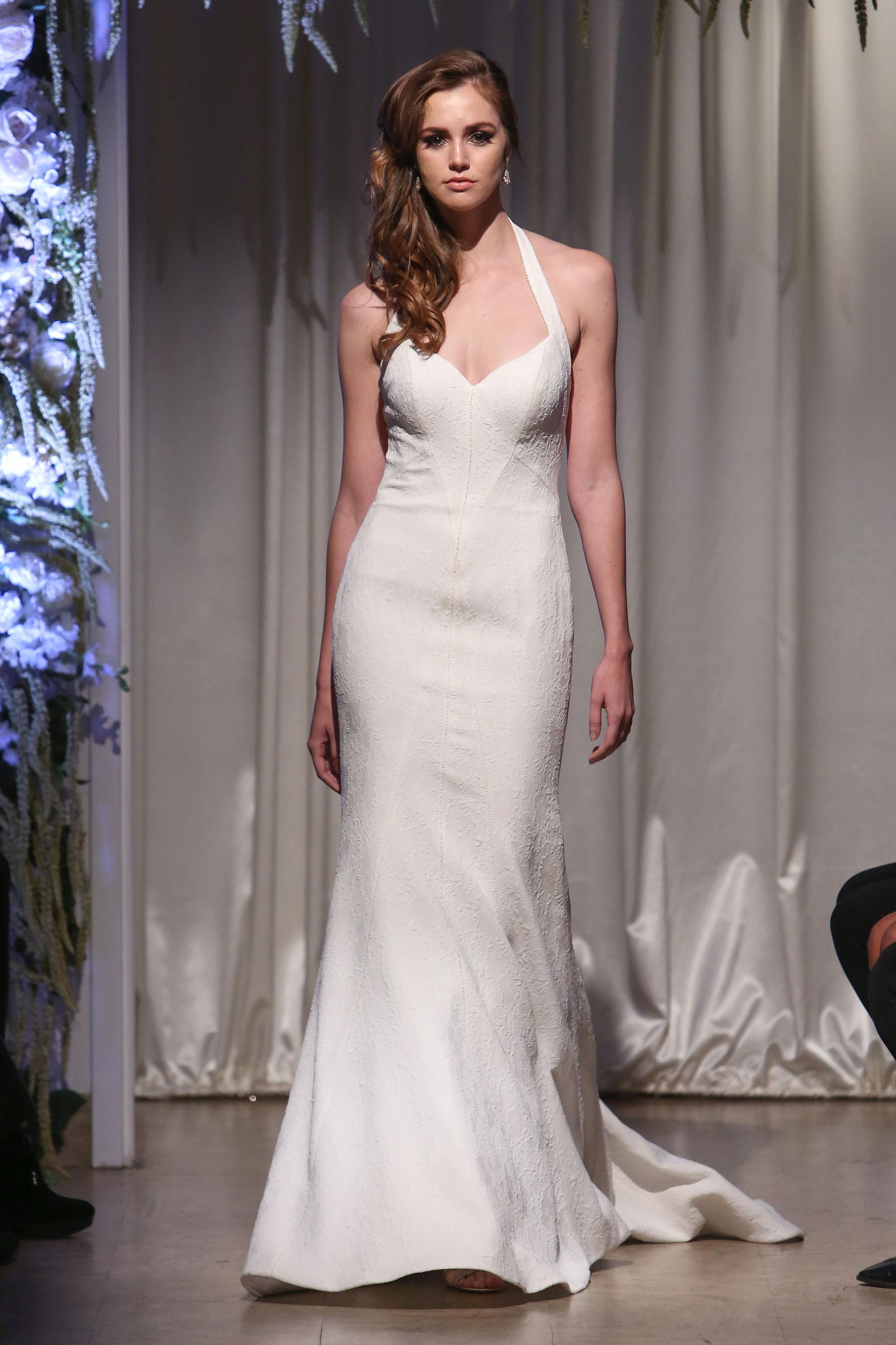matthew christopher 2018 halter sweetheart wedding dress