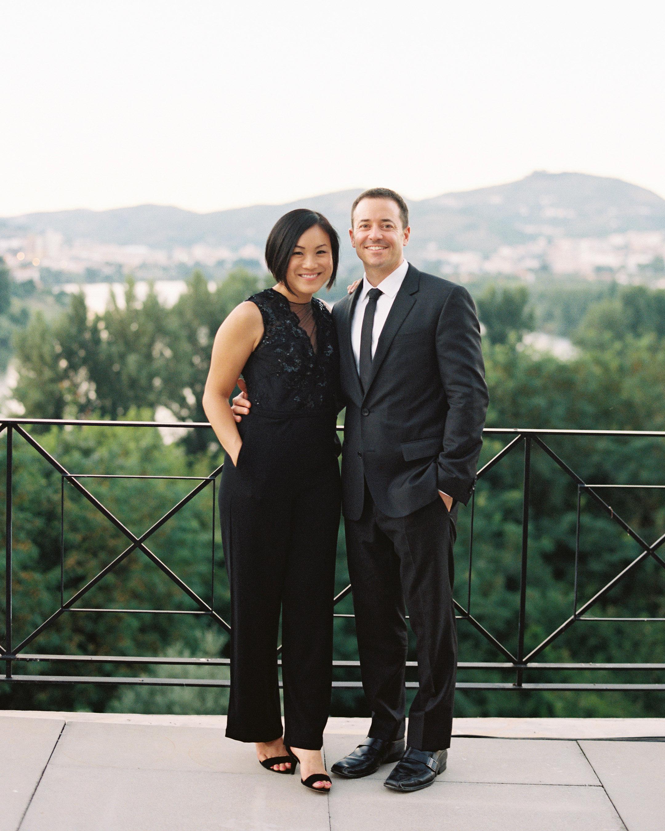 jeannette taylor wedding portugal friends