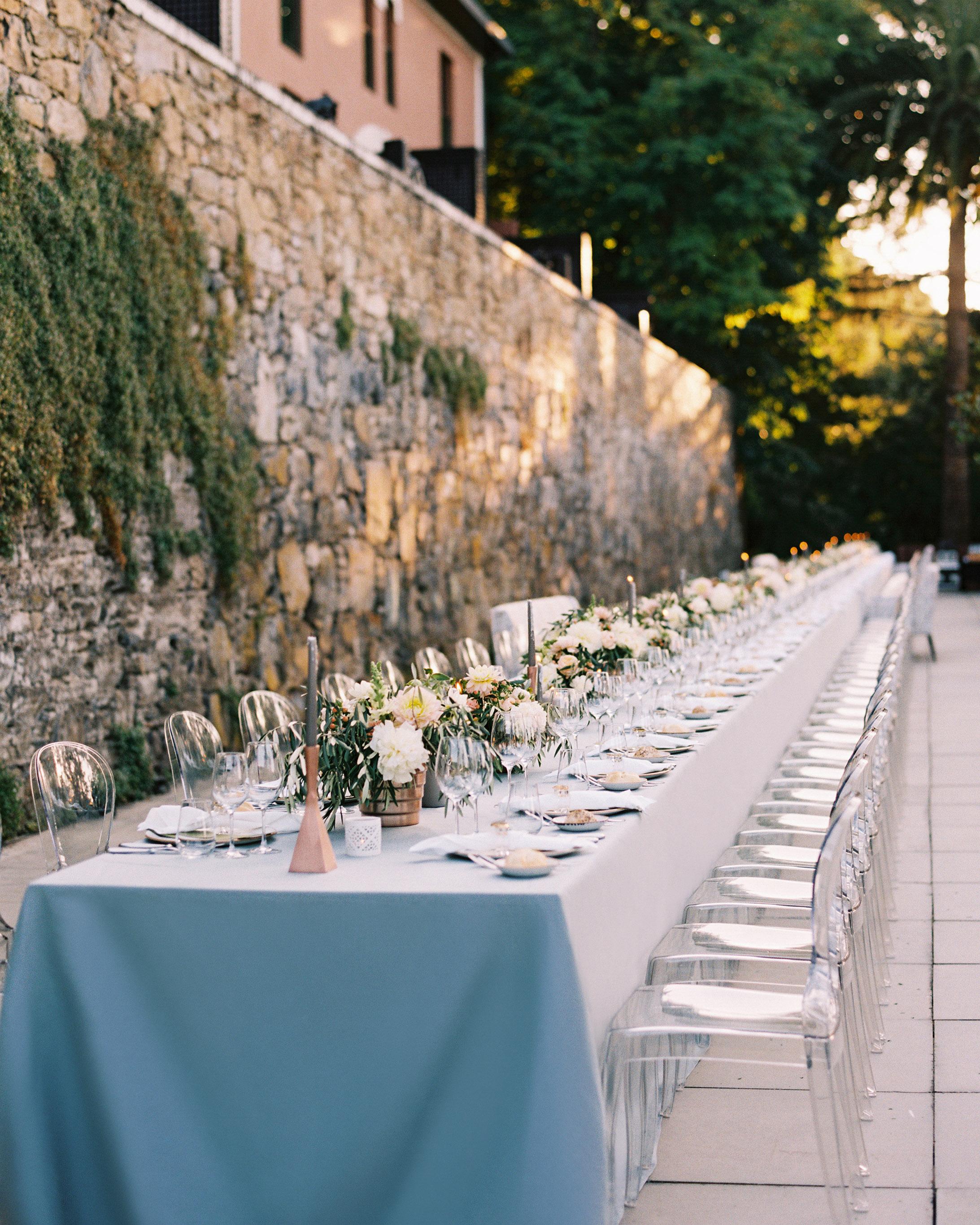 jeannette taylor wedding portugal table