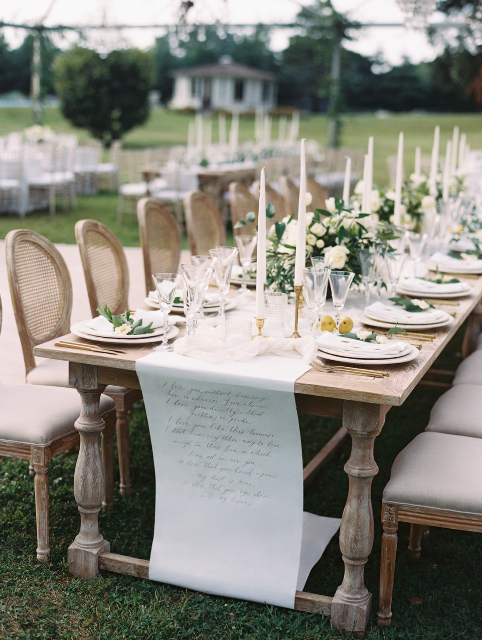 head table