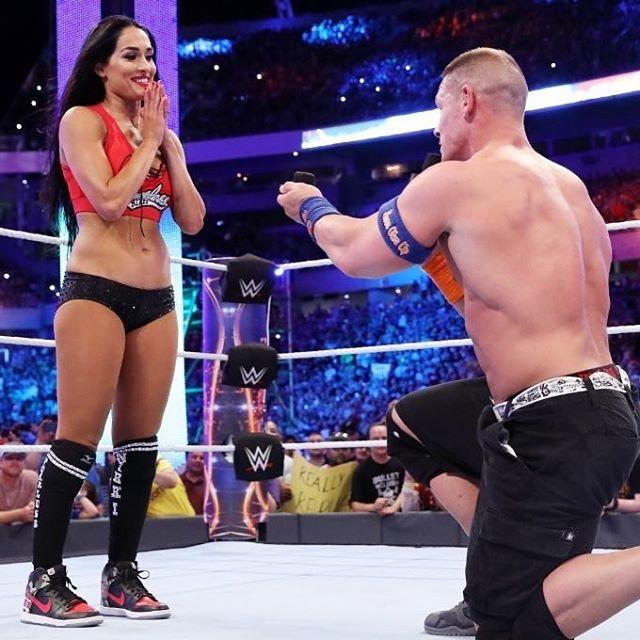 Nikki Bella and John Cena proposal