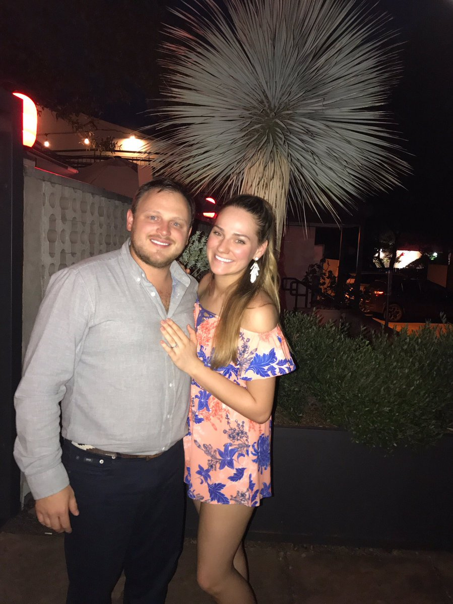 Josh Abbott and Taylor Parnell Engaged