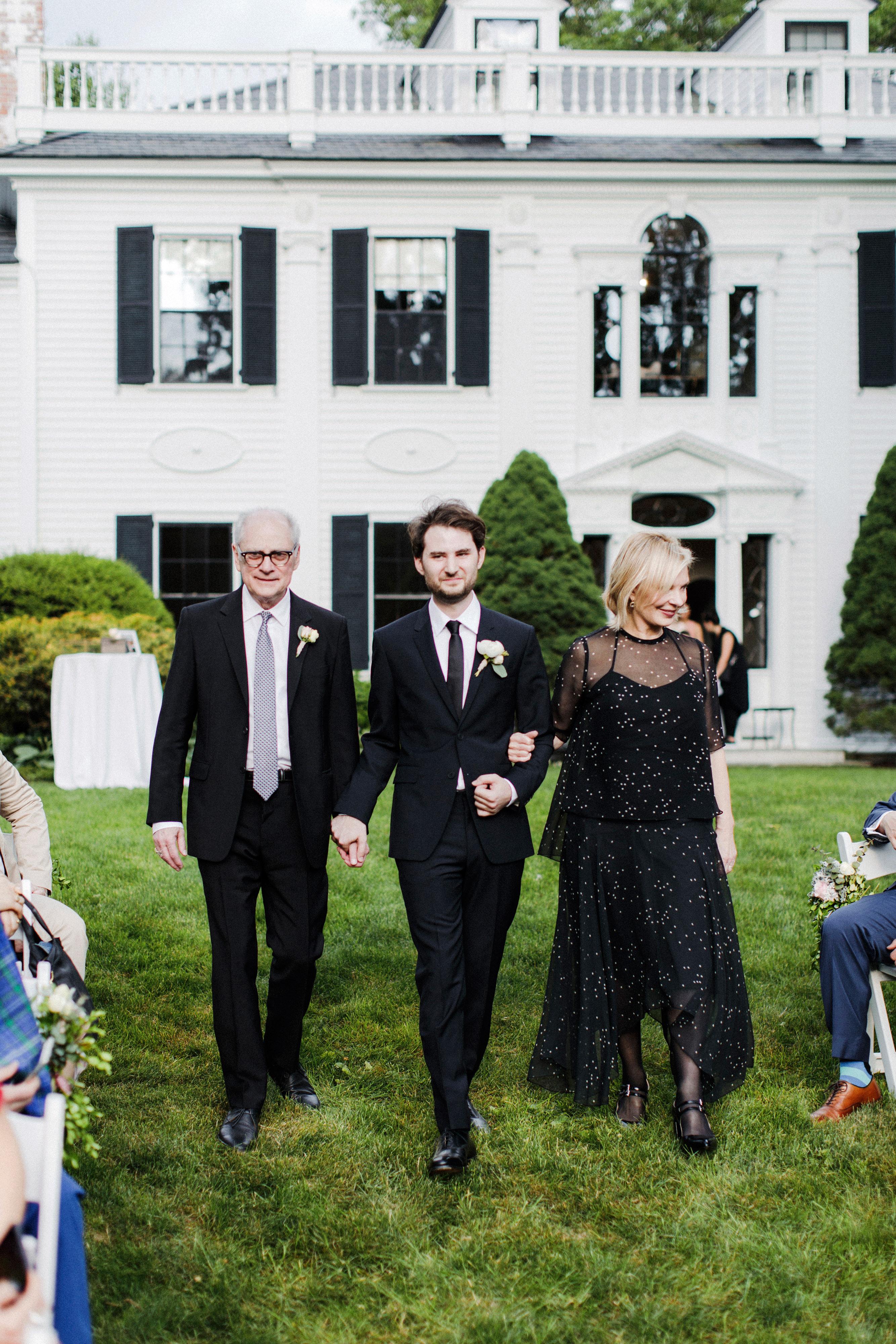 eden jack wedding processional groom parents