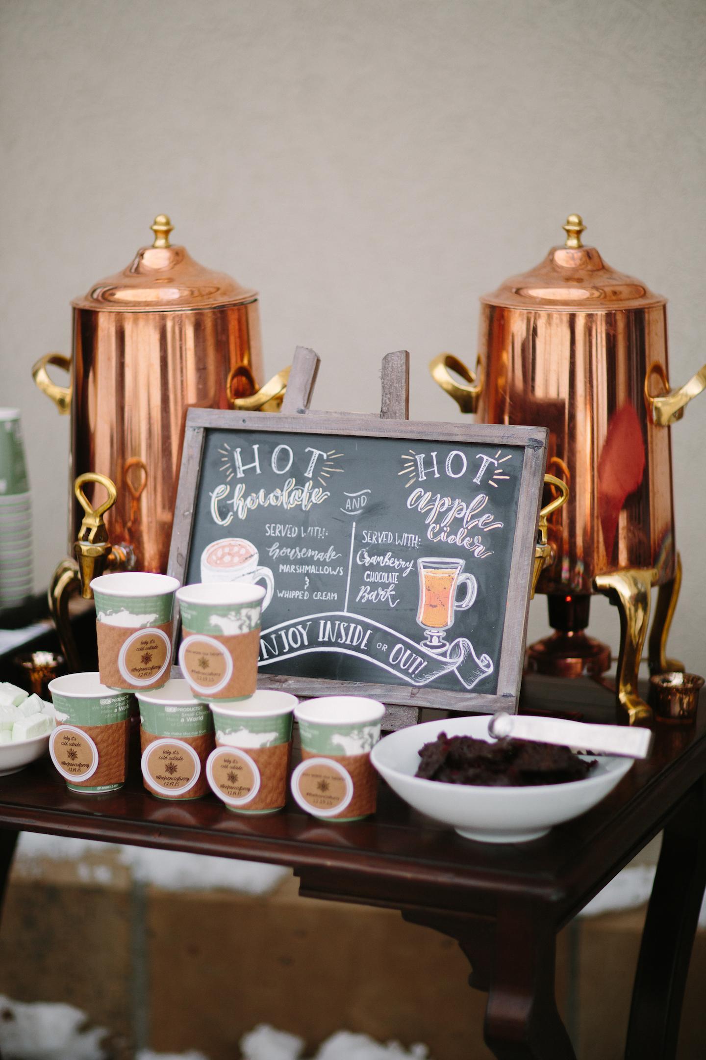 hot drink station