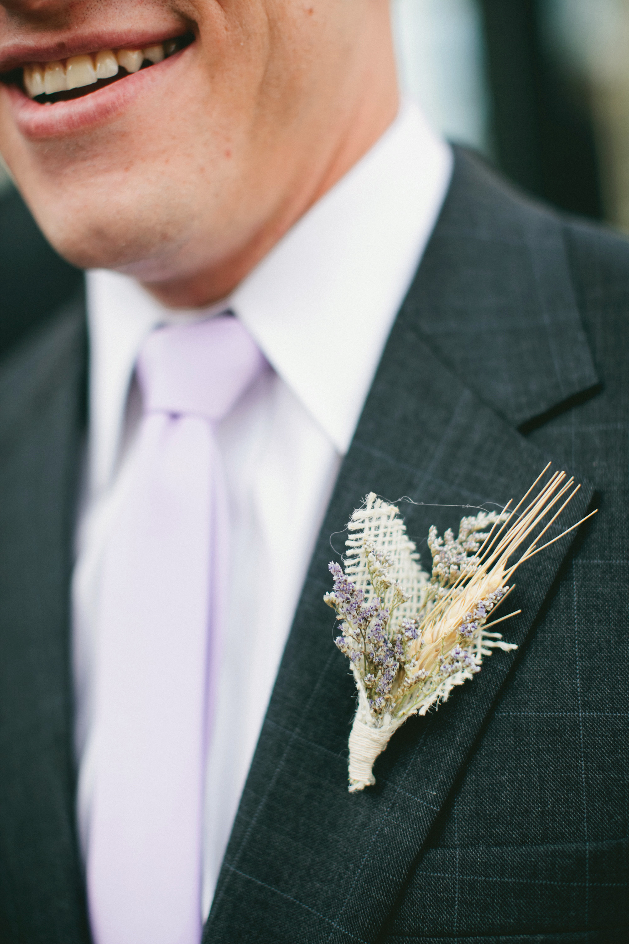 winter boutonniere one love photography