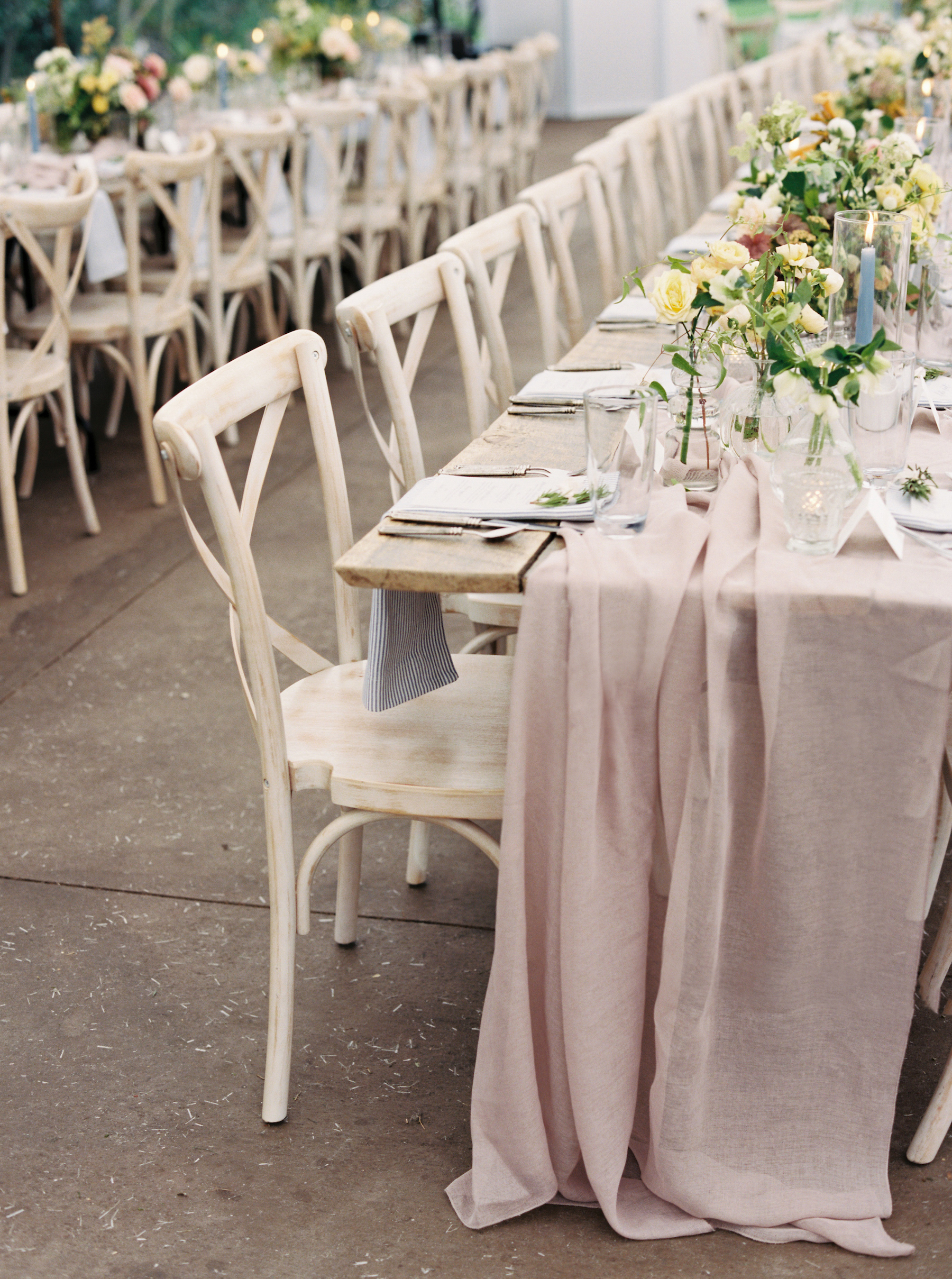 wedding table chairs