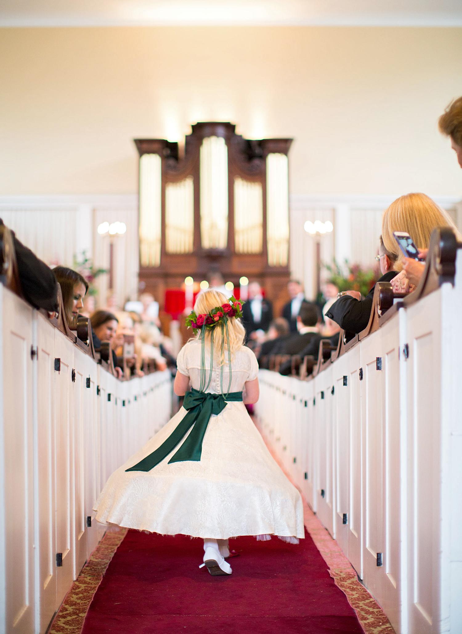 madelyn jon wedding glower girl