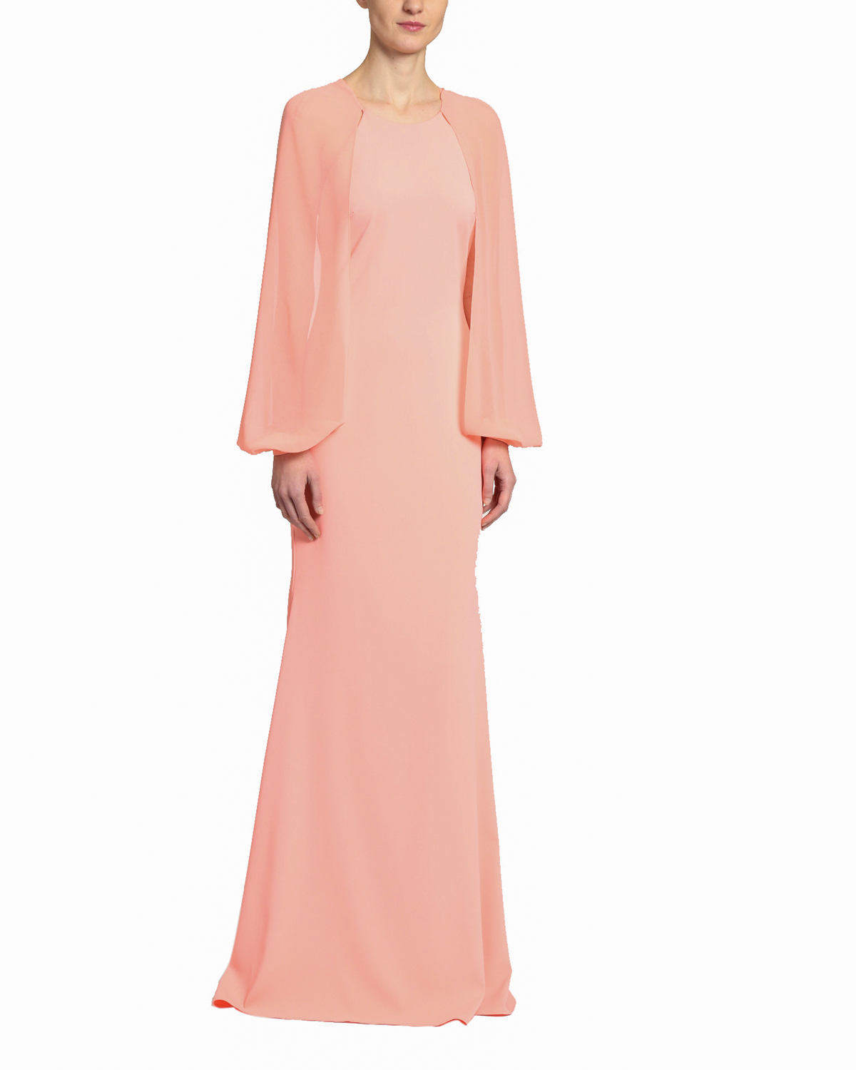 mother of the bride dress sleeve gown