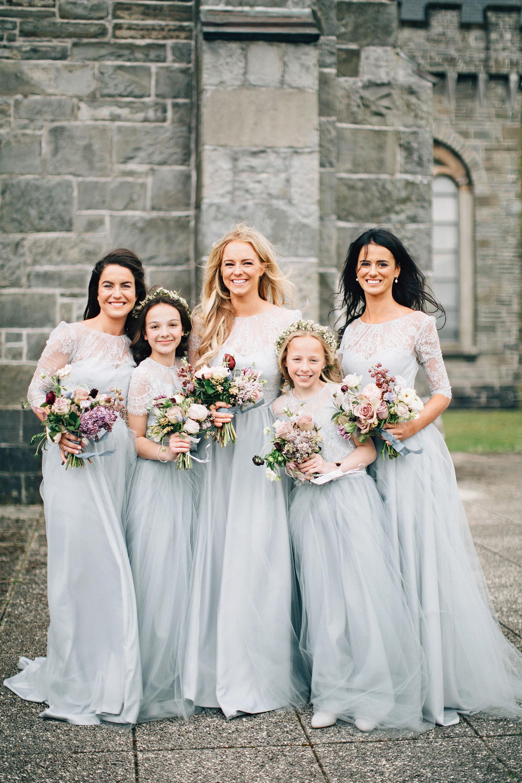 simone darren wedding ireland bridesmaids flower girls