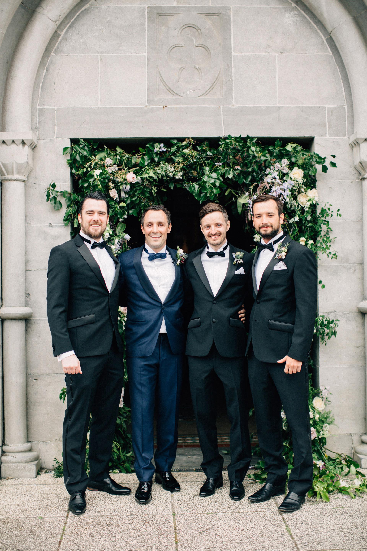 simone darren wedding ireland groomsmen