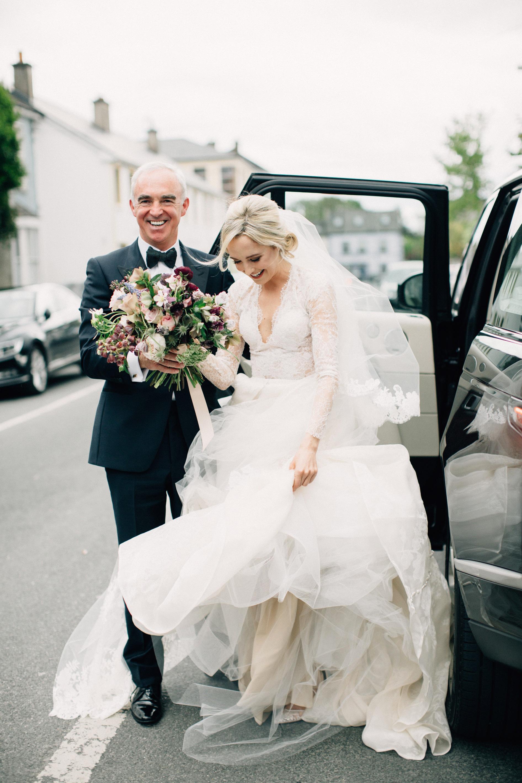 simone darren wedding ireland arrival