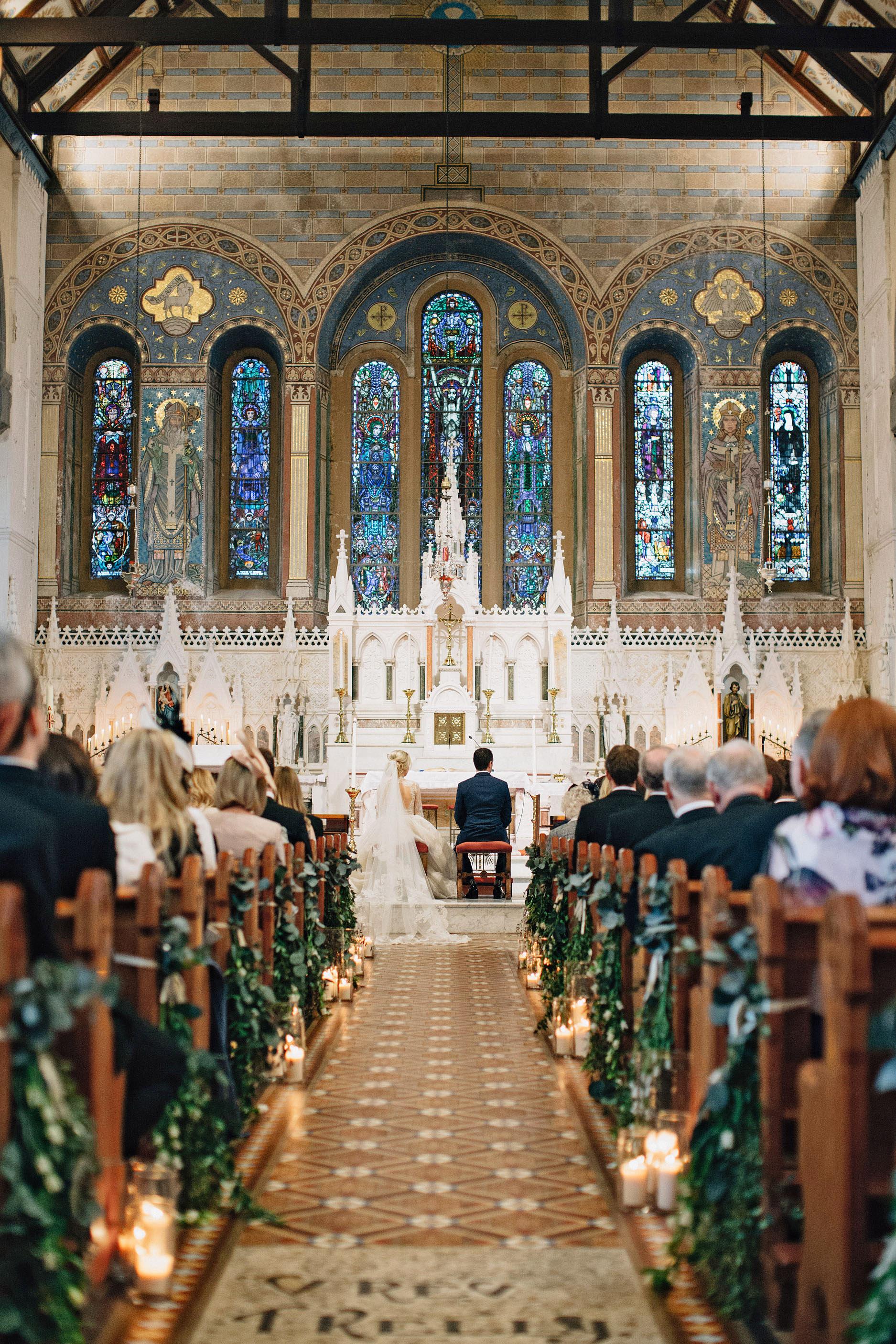 simone darren wedding ireland church ceremony