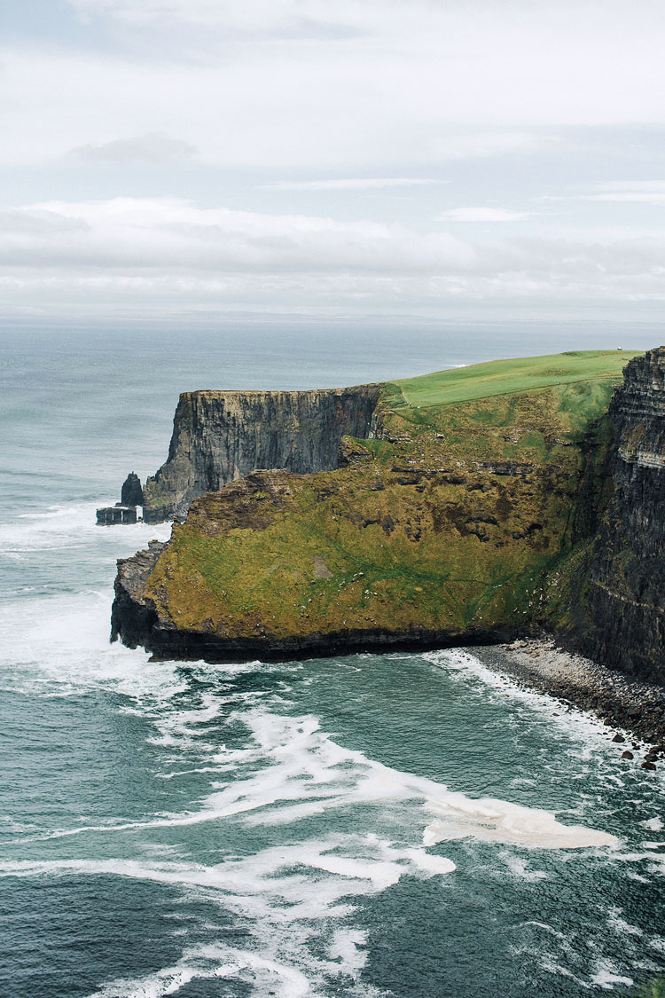 simone darren wedding ireland cliff