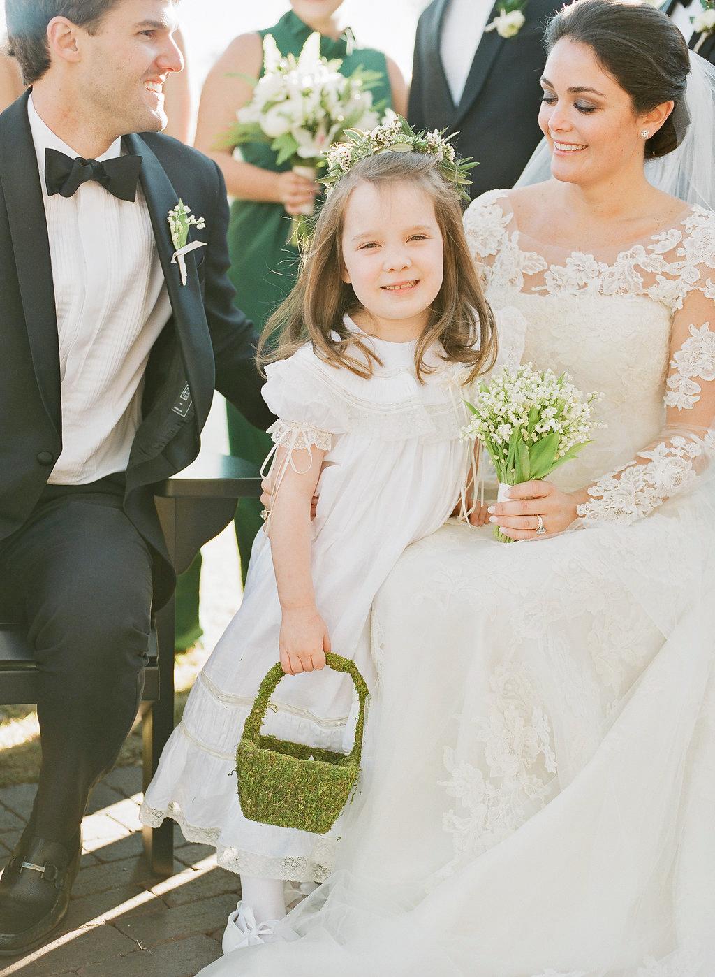 shelby barrett wedding flower girl