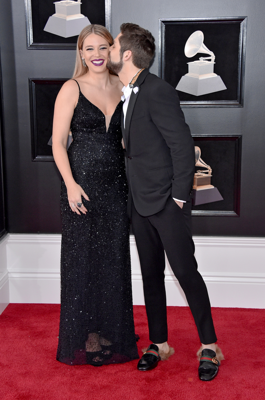 Thomas Rhett and Lauren Akins 2018 Grammy Awards