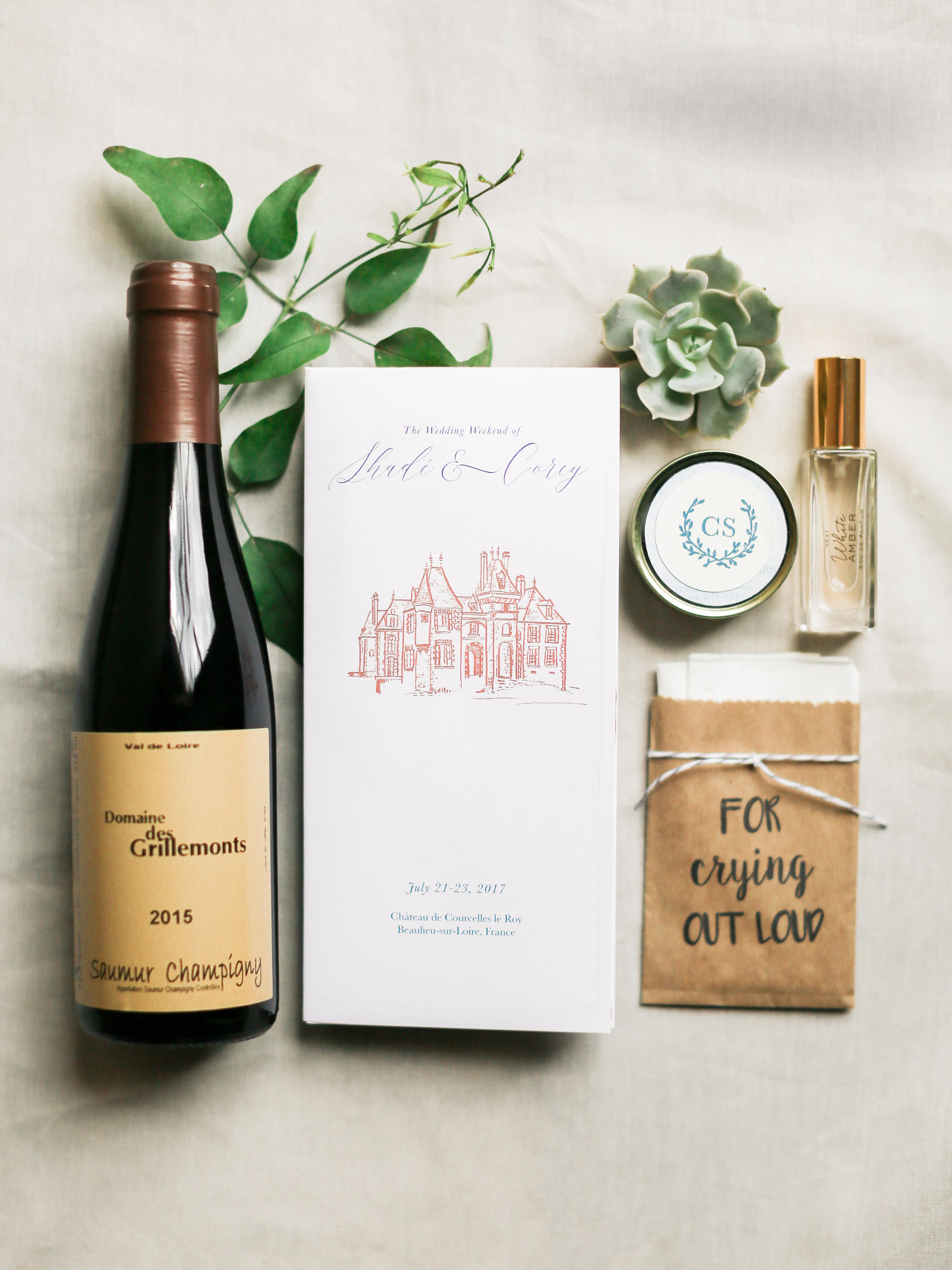 wedding goodies favors