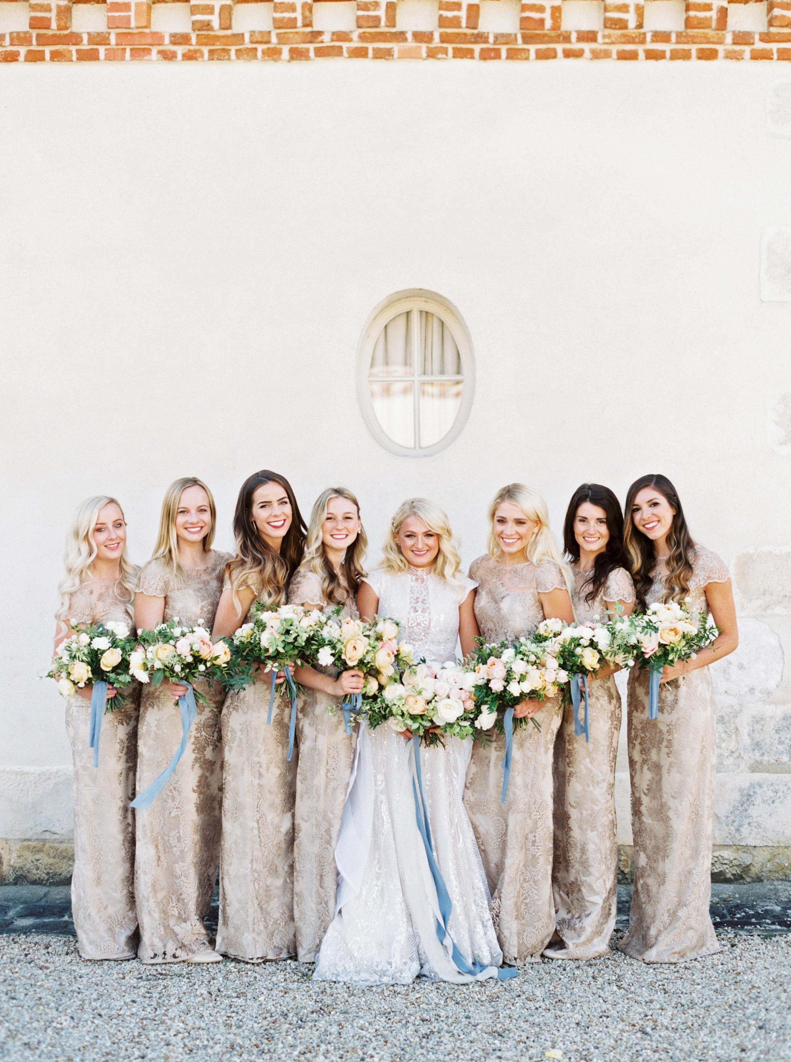 rachael cameron wedding bridesmaids
