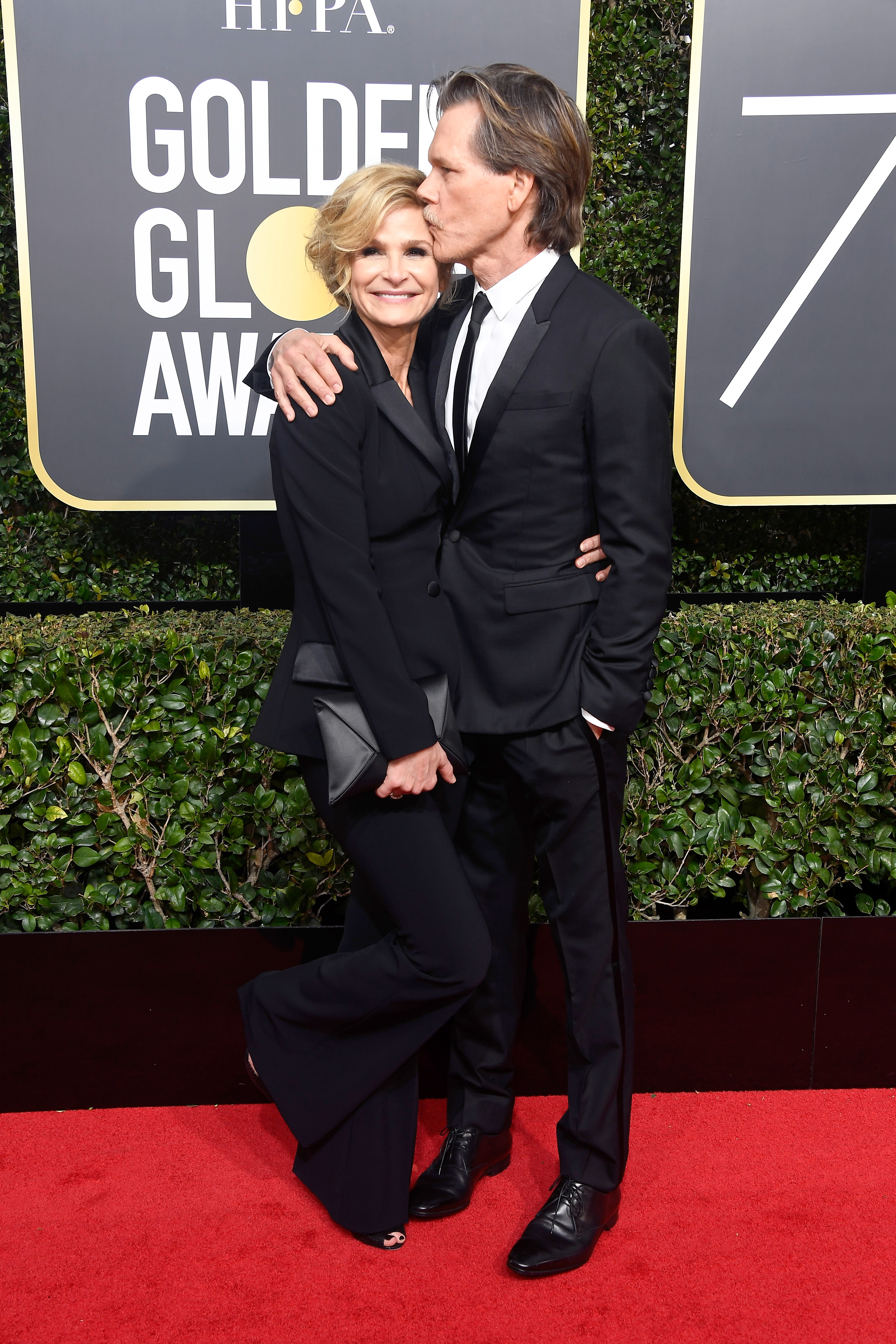 Kevin Bacon and Kyra Sedgwick 2018 Golden Globes
