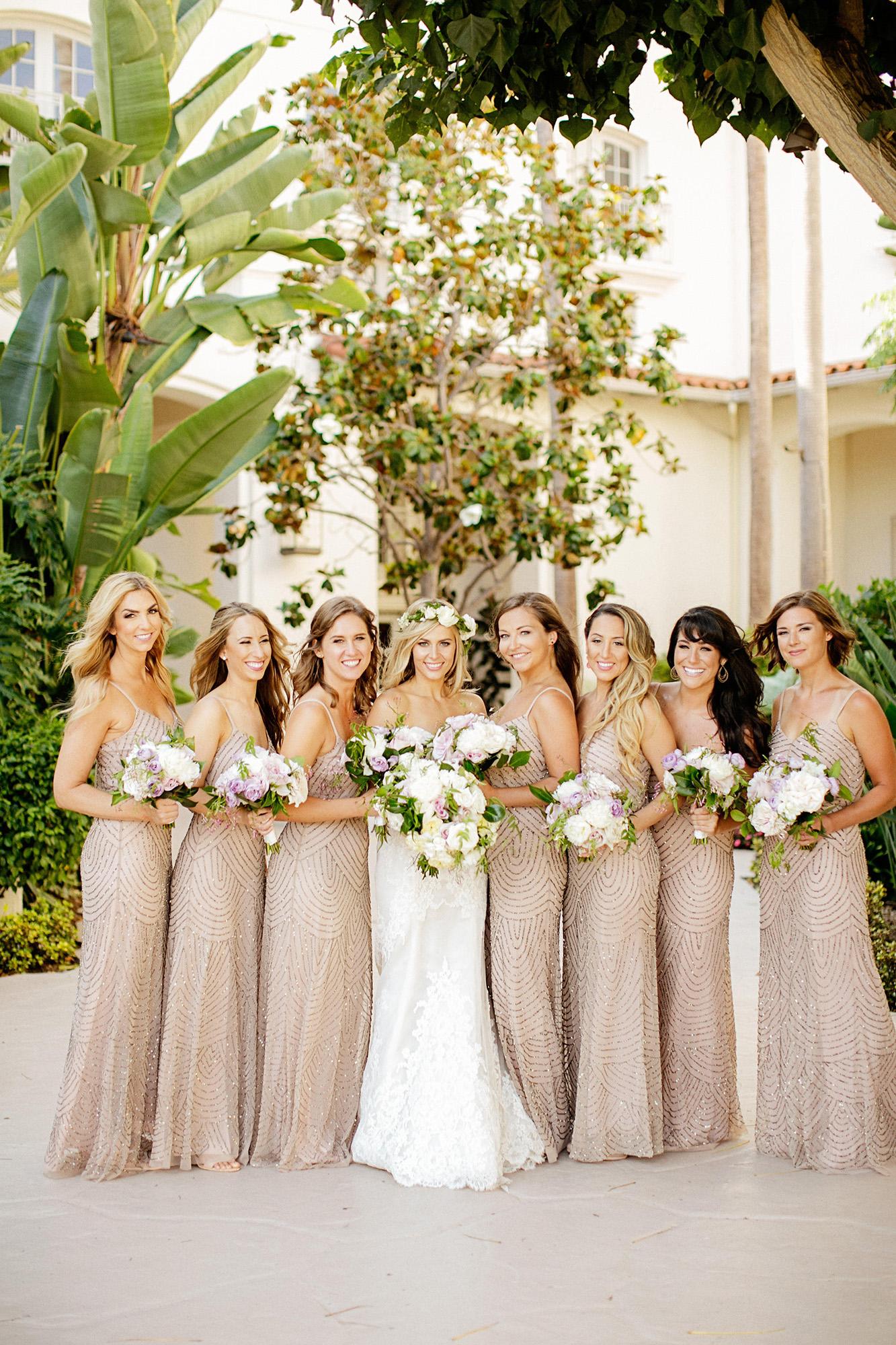 Rent the Runway Bride and Bridesmaids