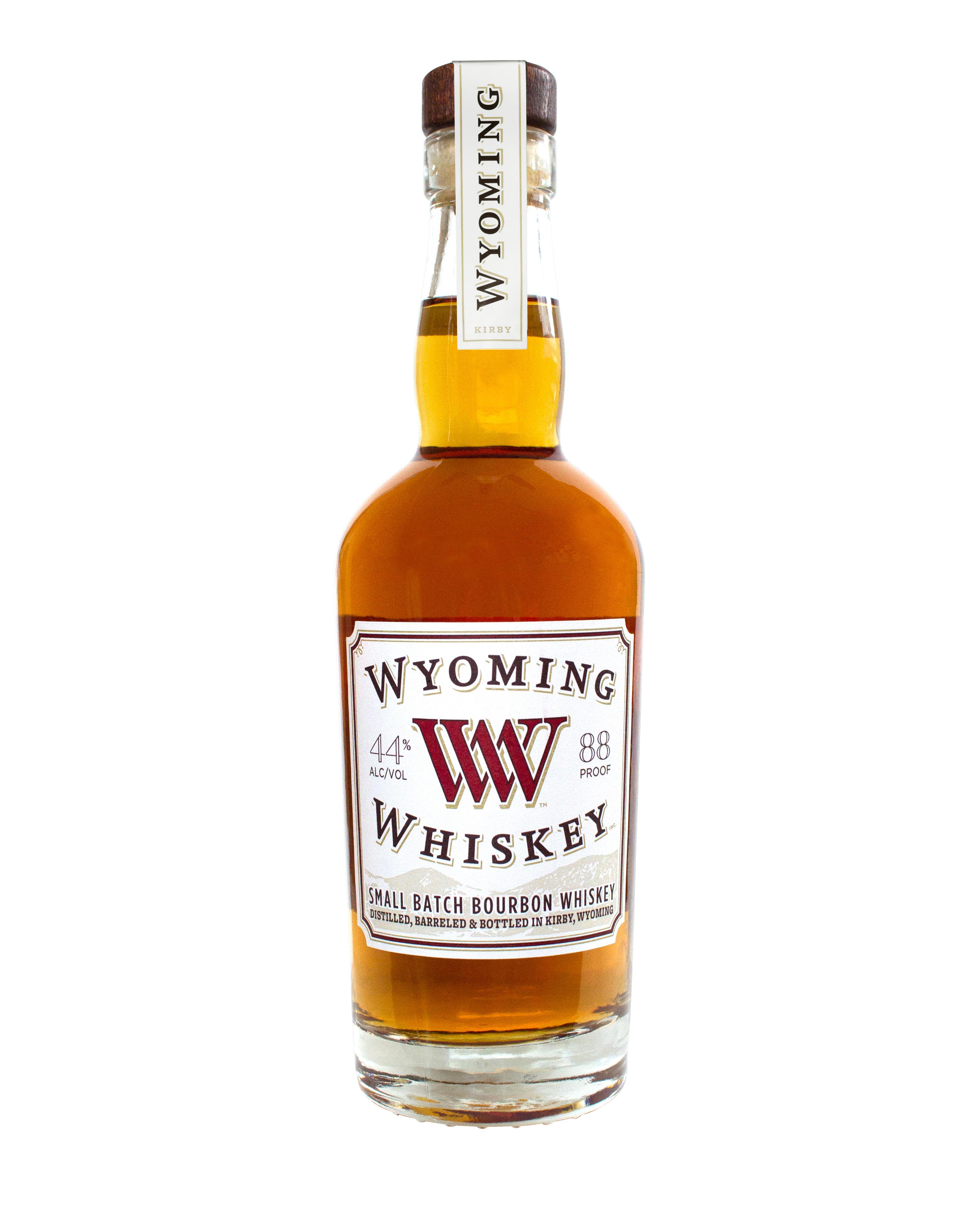 wyoming whiskey mini bottle