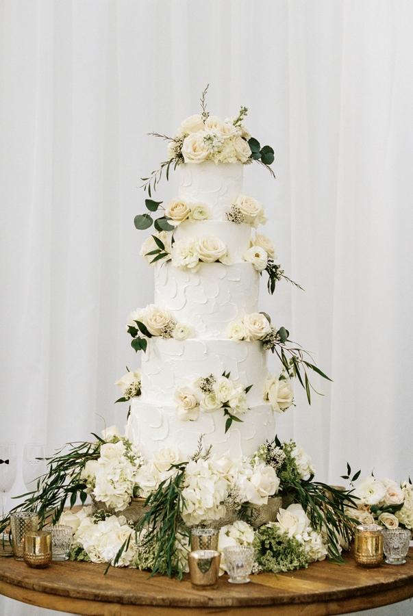 julie johnston zach ertz wedding cake