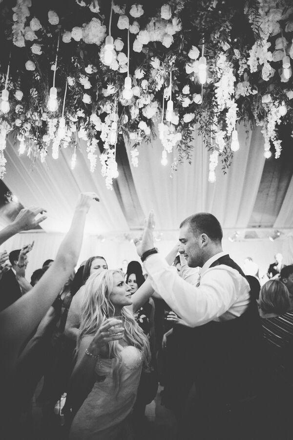 julie johnston zach ertz dancing wedding