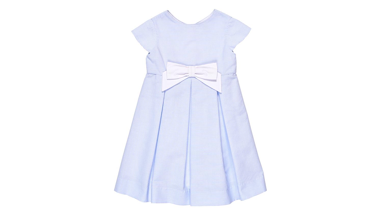 """Florence Eiseman """"Ottoman"""" Stripe Dress"""