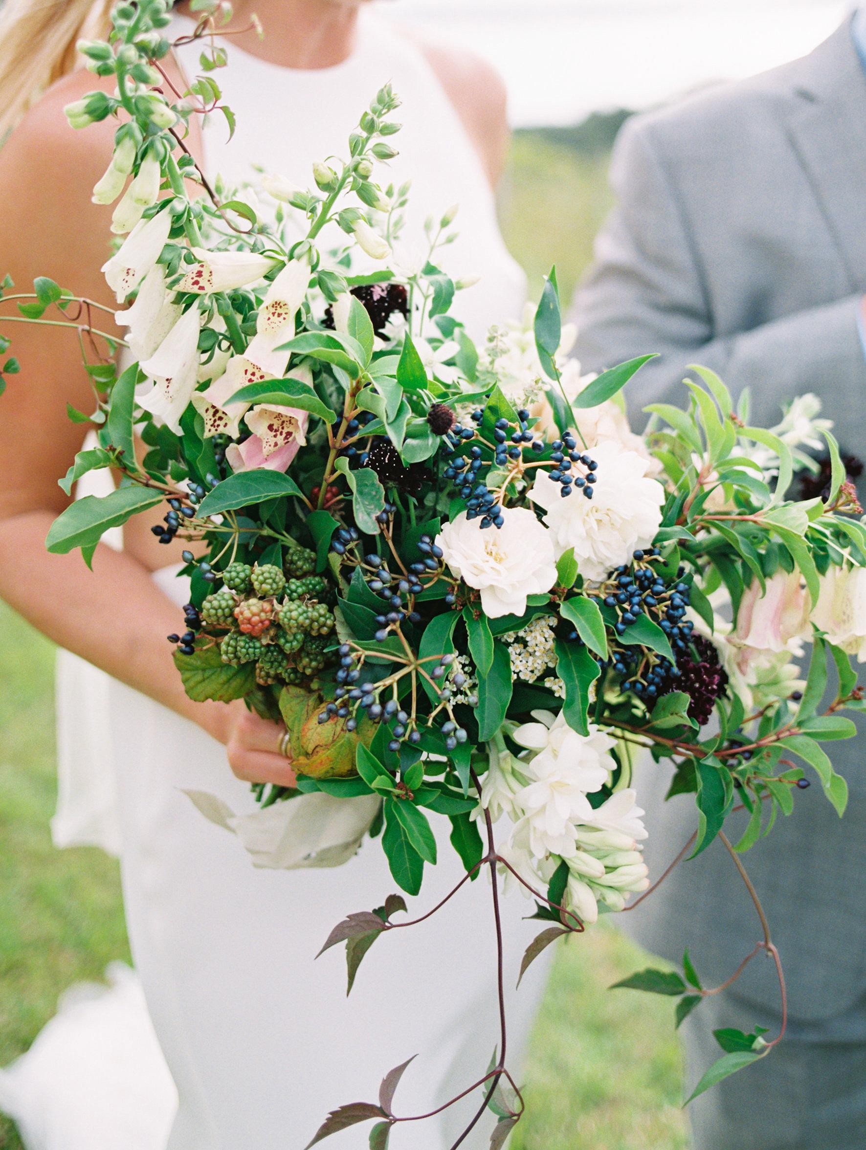 surprise wedding bouquet