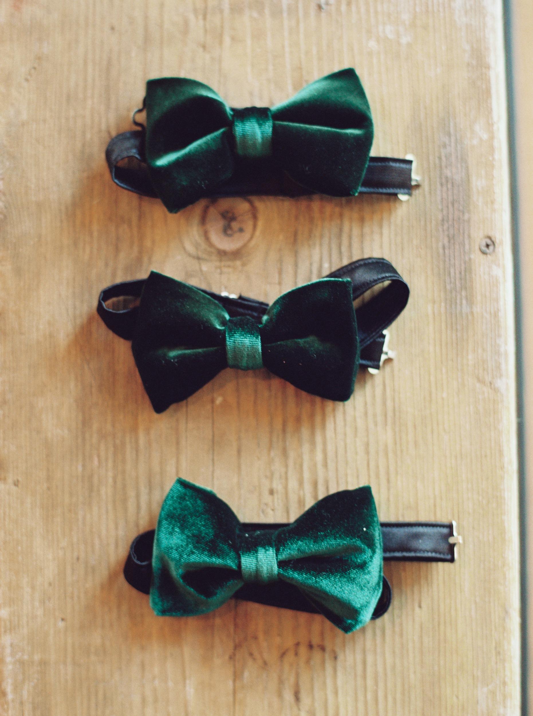 green bowties