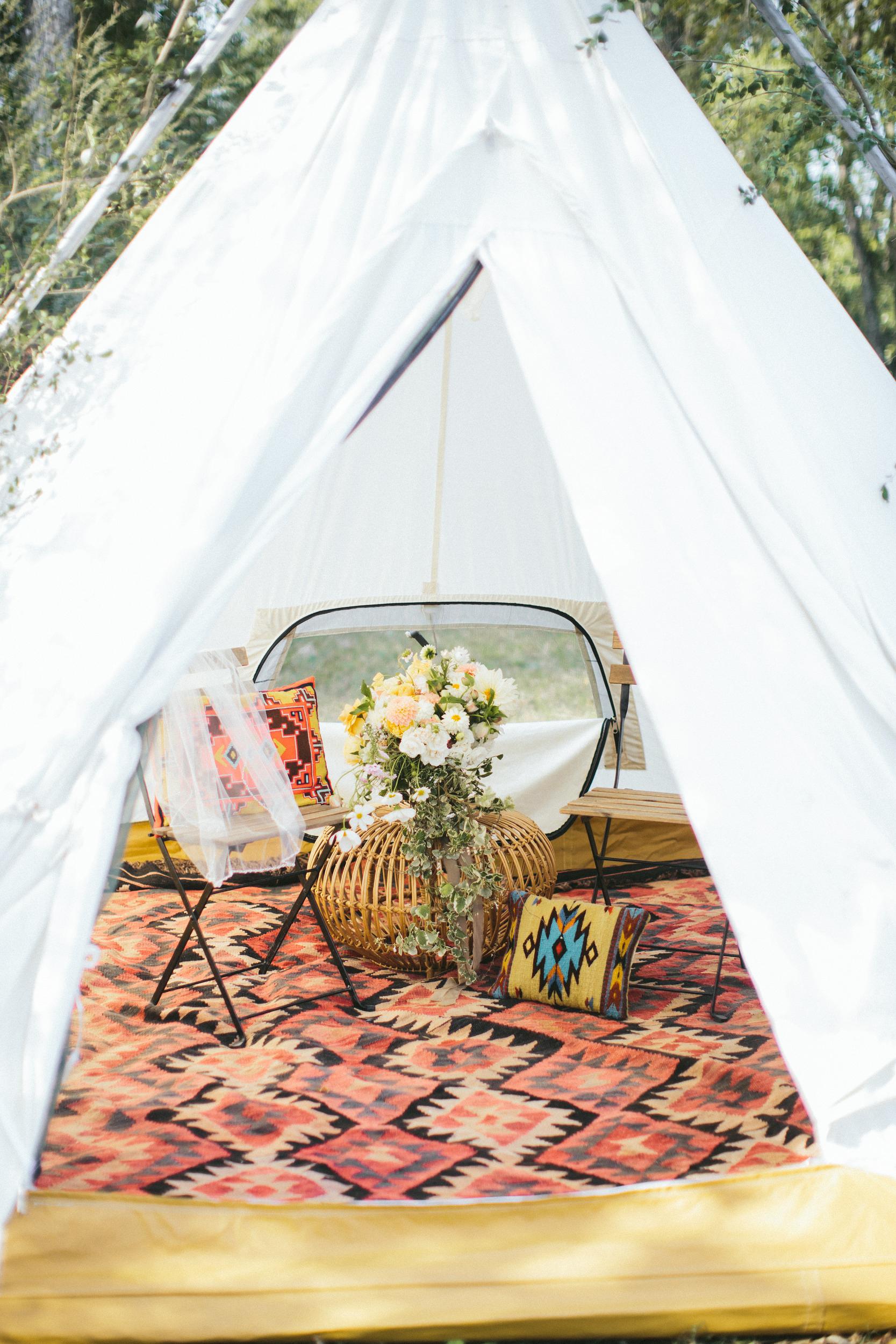 wedding teepee