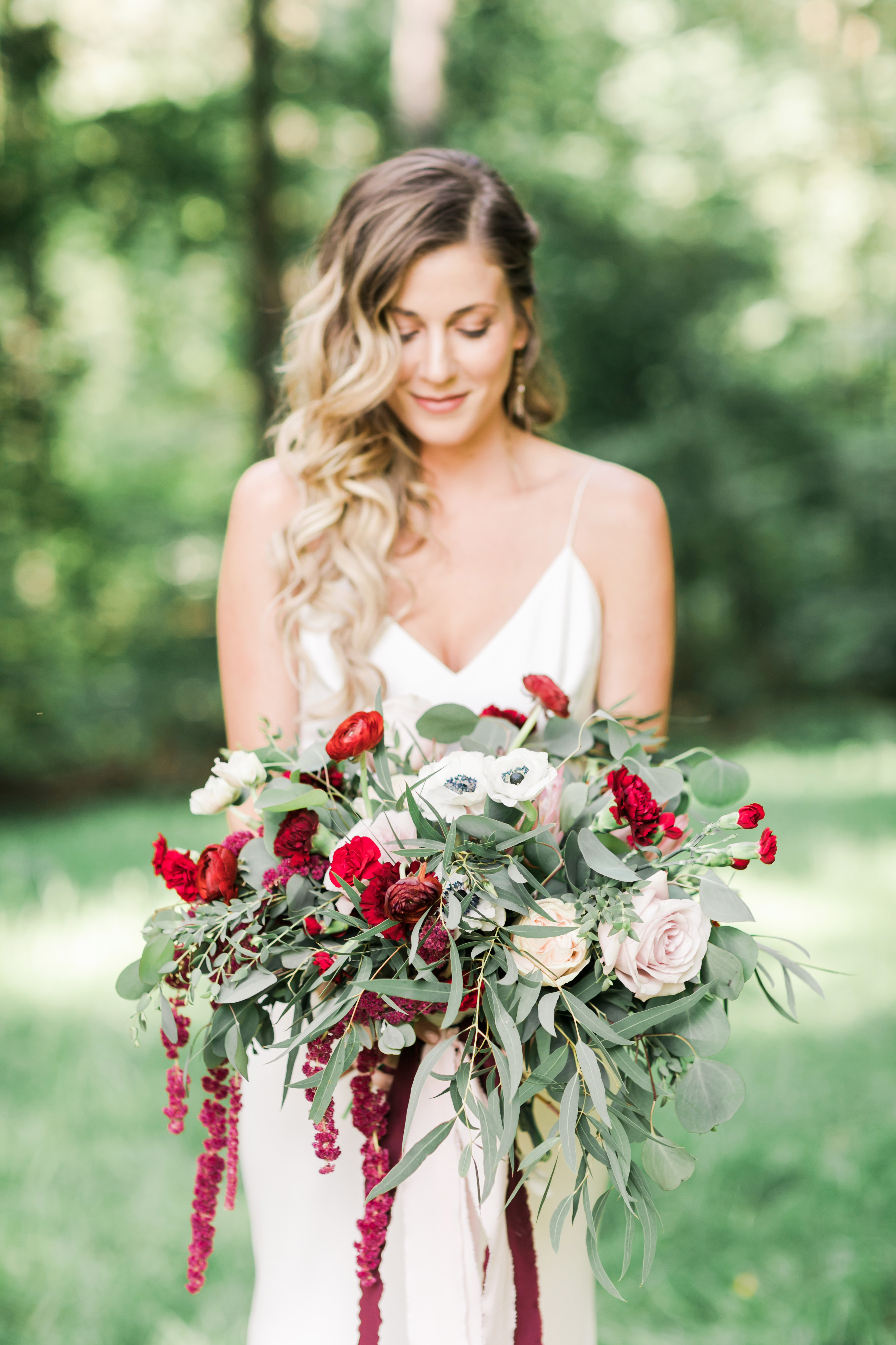 vanessa steven wedding bouquet