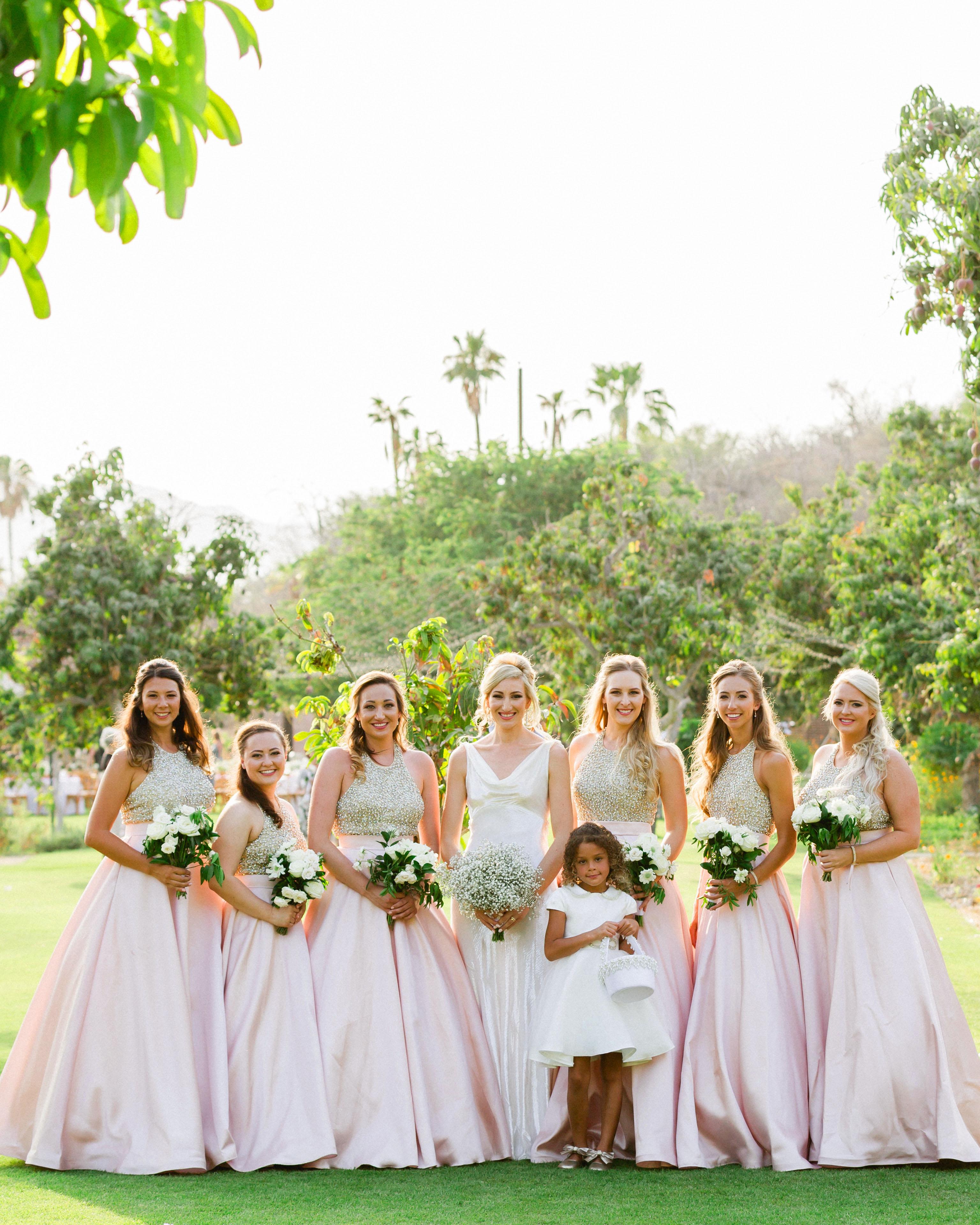 brittany craig wedding bridesmaids