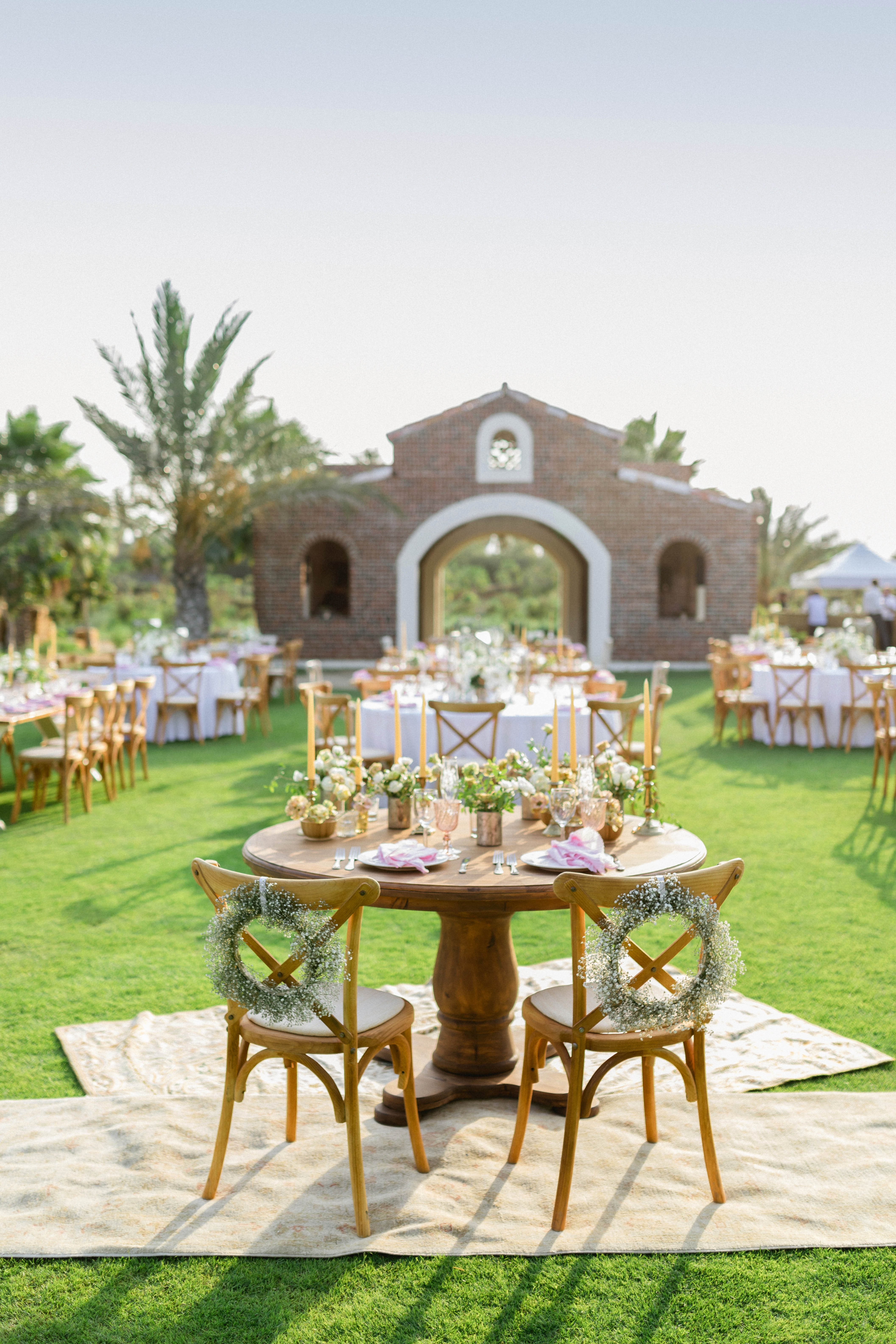 brittany craig wedding sweetheart and dining tables