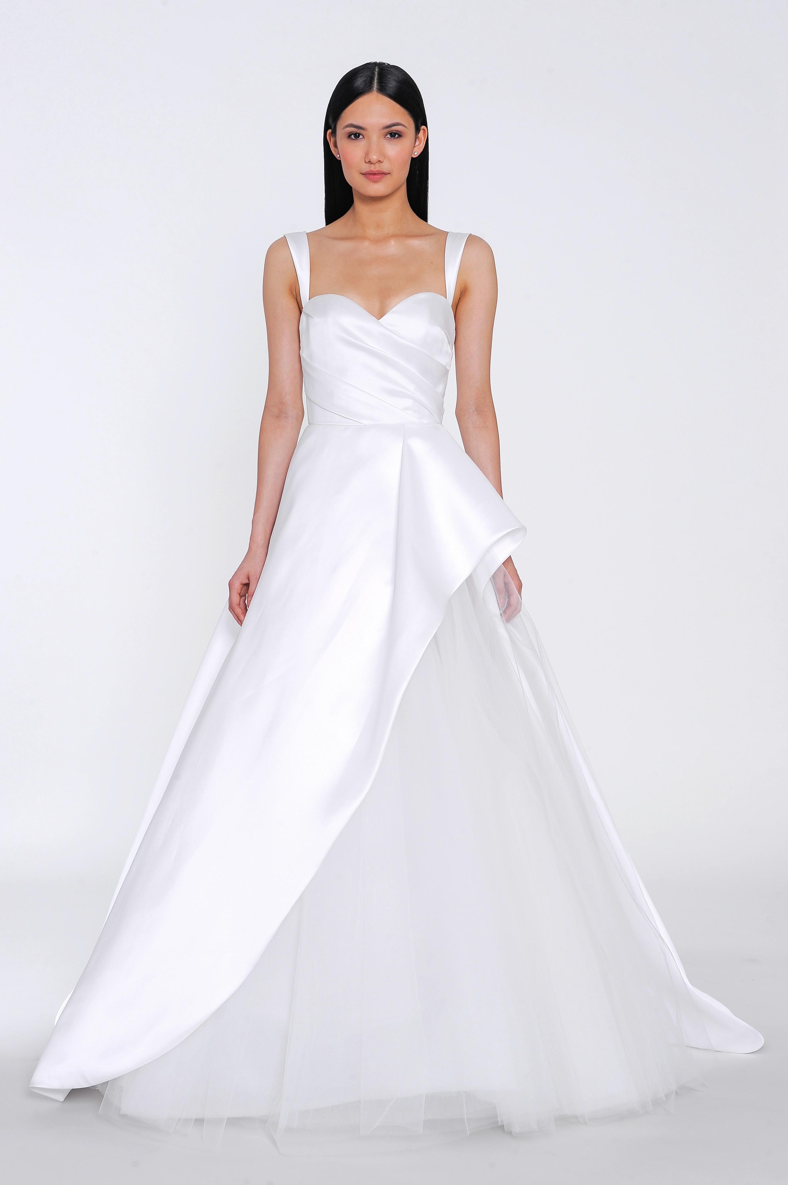allison webb wedding dress spring 2019 sweetheart satin tulle