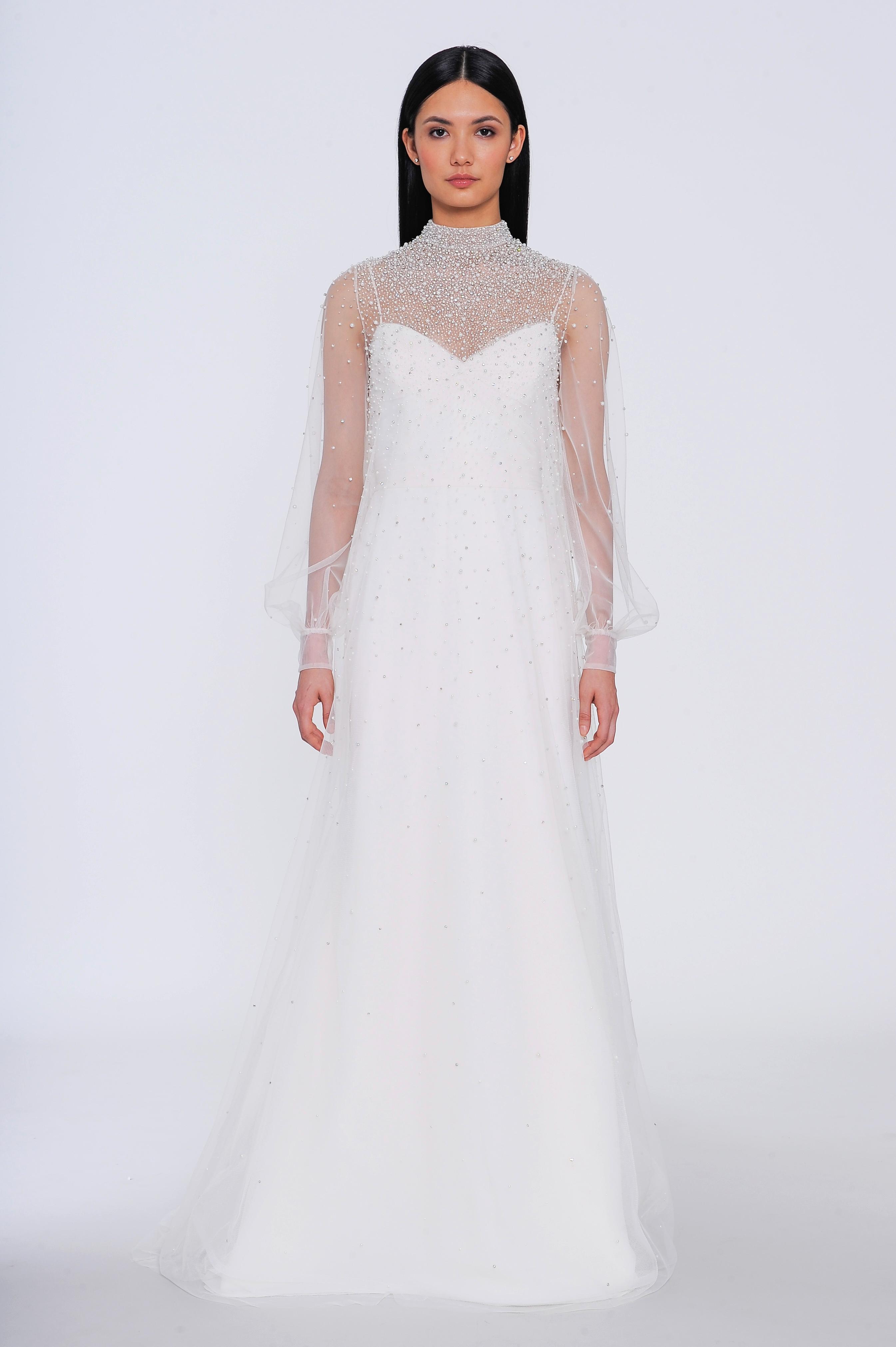 allison webb wedding dress spring 2019 long sleeve illusion